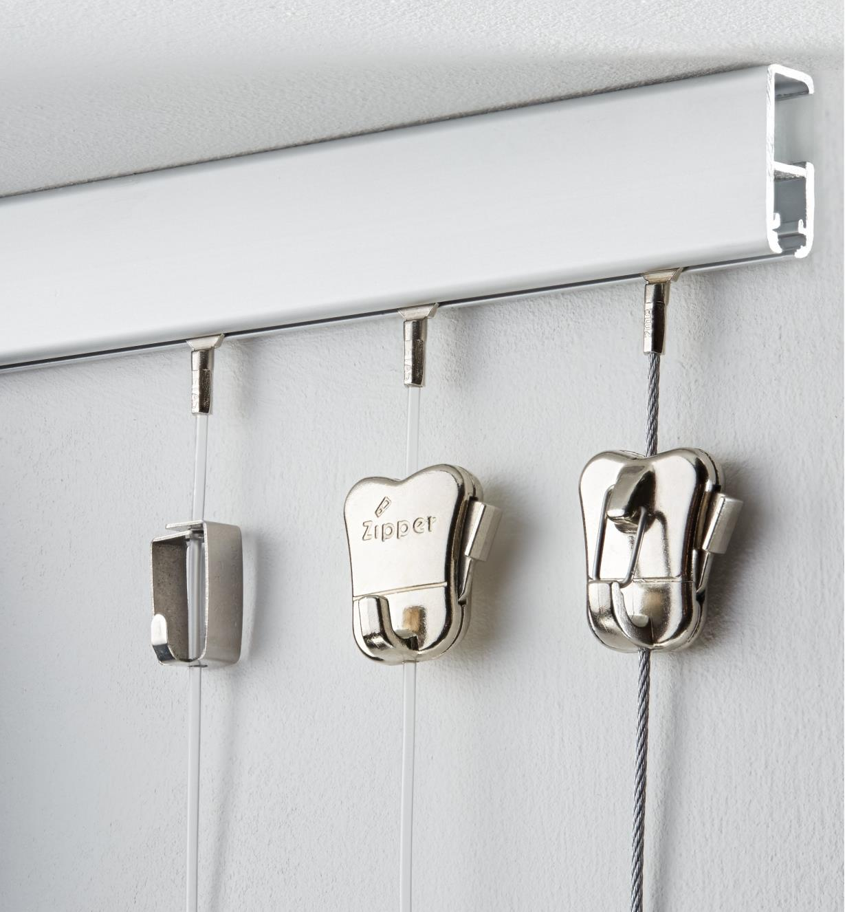Cliprail Picture-Hanging System