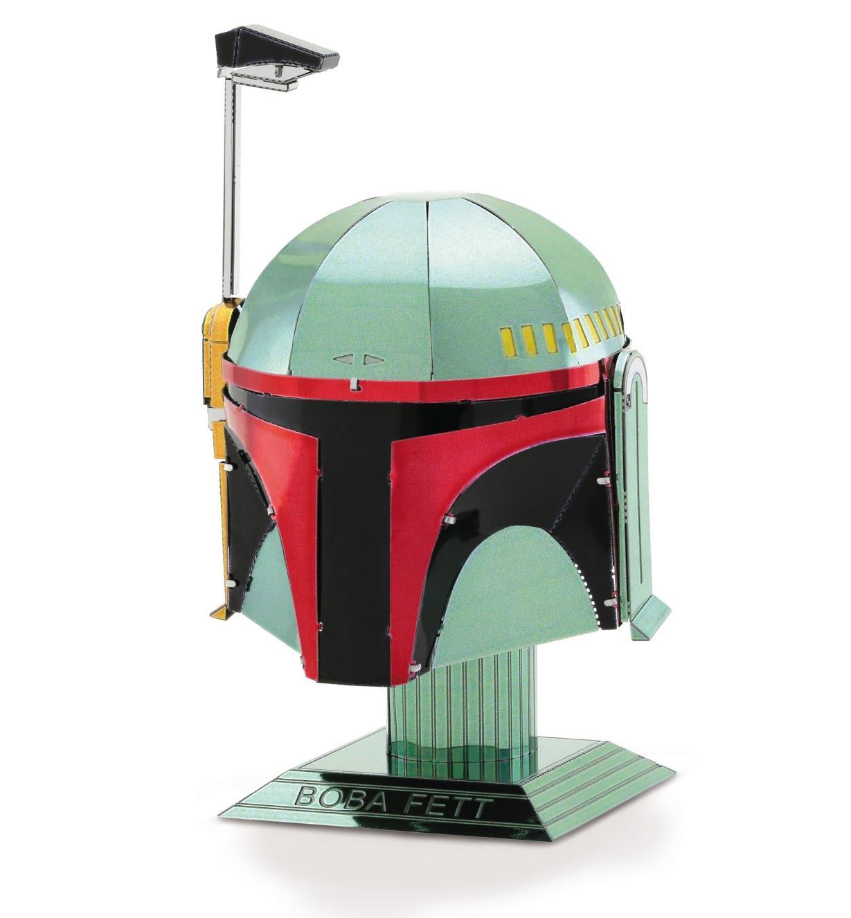 45K4165 - Modèle réduit en métal – Star Wars: Casque de Boba Fett