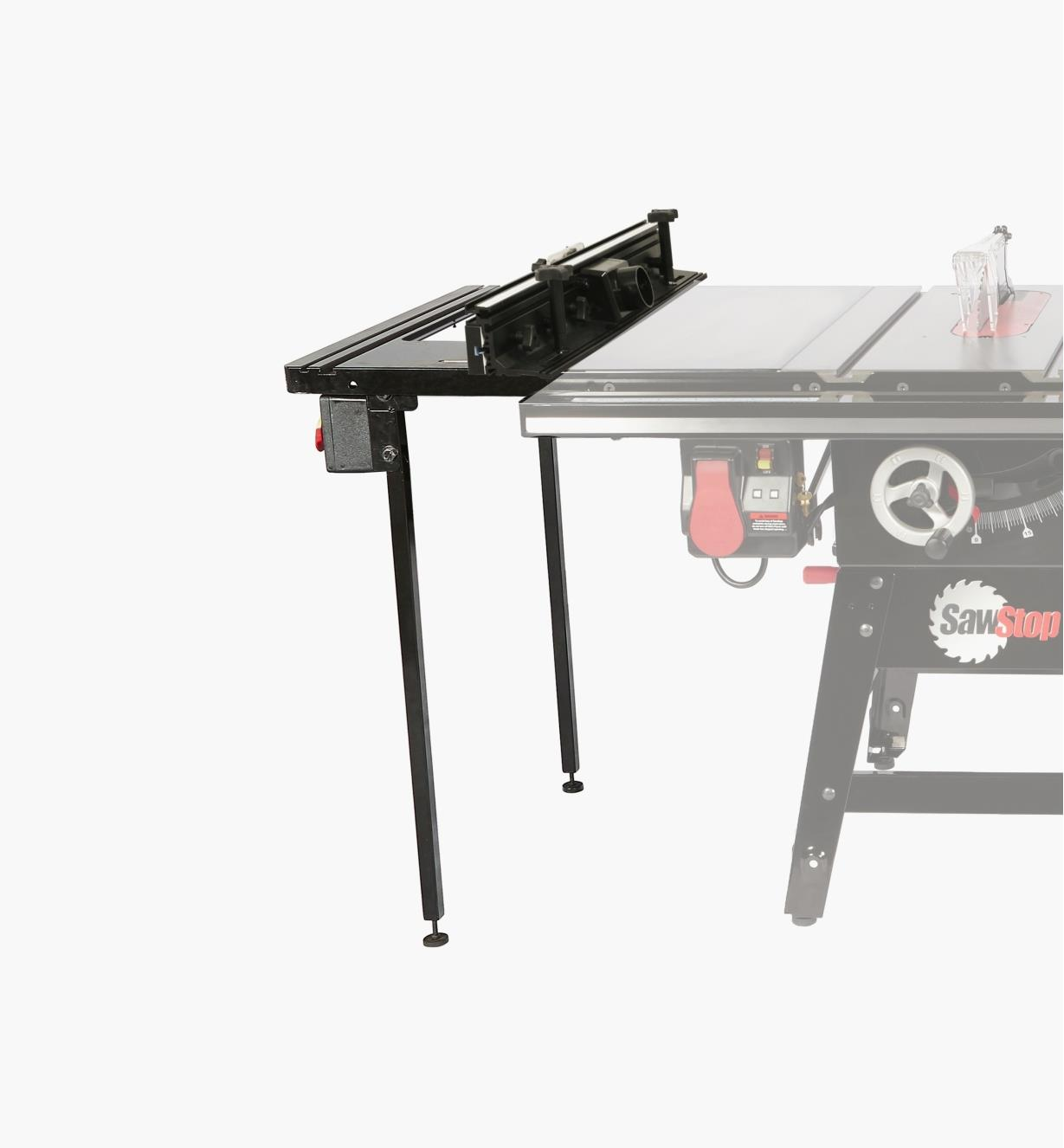95T2555 - In-Line Router Table for the SawStop Contractor Saw