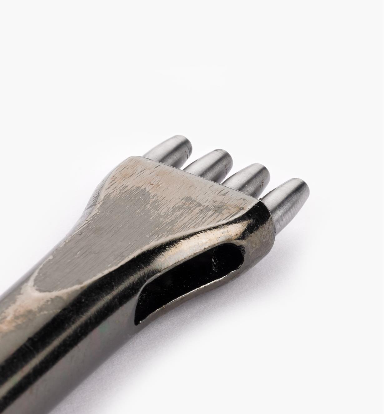 Close-up of Multi-Hole Punch tip