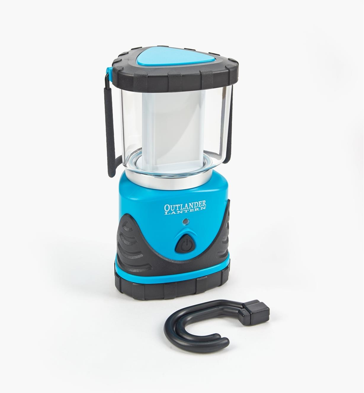 99W8889B - LED Emergency Lantern, Blue