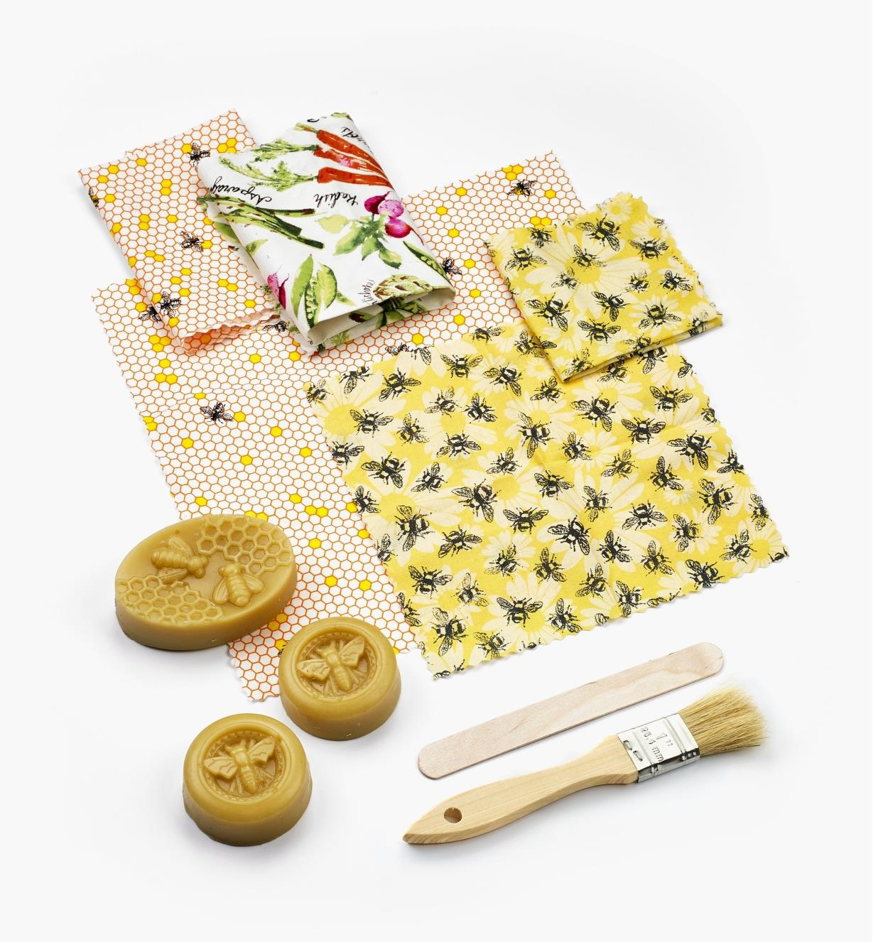 EV820 - DIY Beeswax Wrap Kit