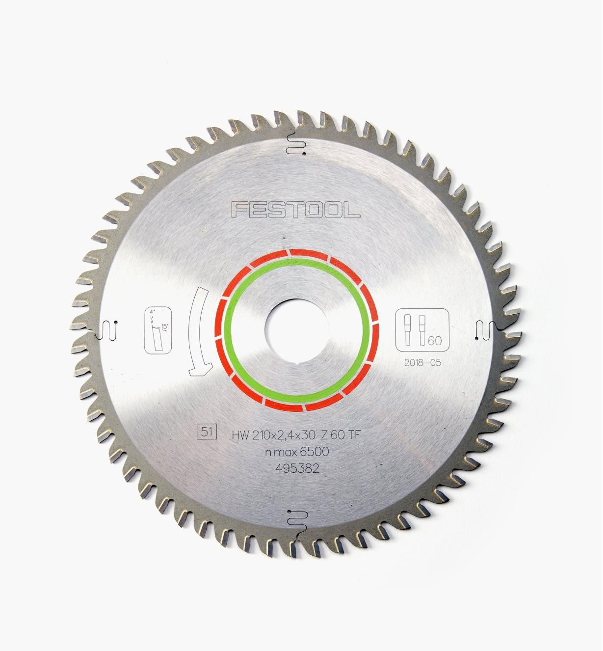 ZA495382 - Solid Surface/Laminate TS 75 Saw Blade