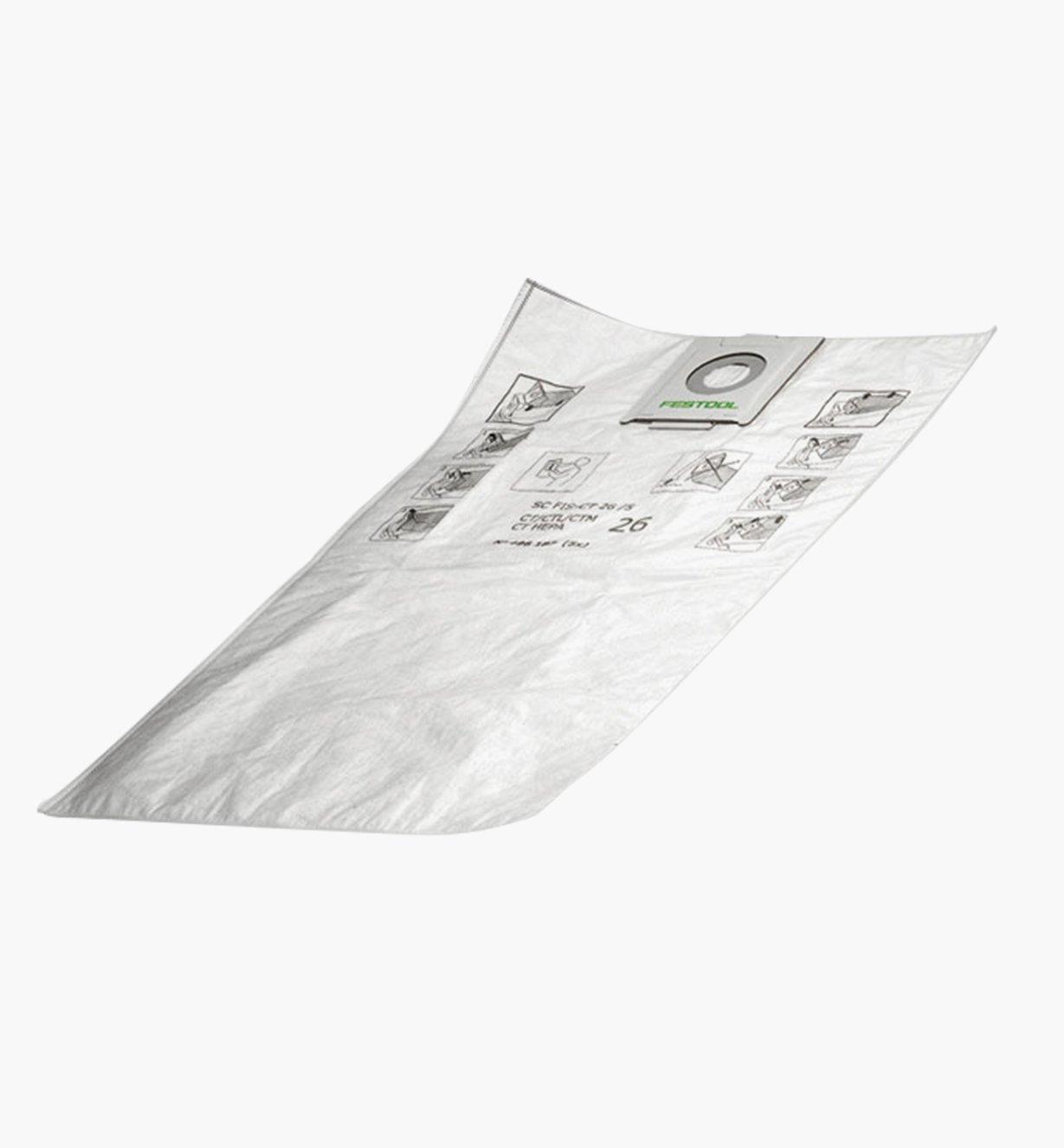 ZA500438 - Filter Bag CT Sys, pkg. of 5