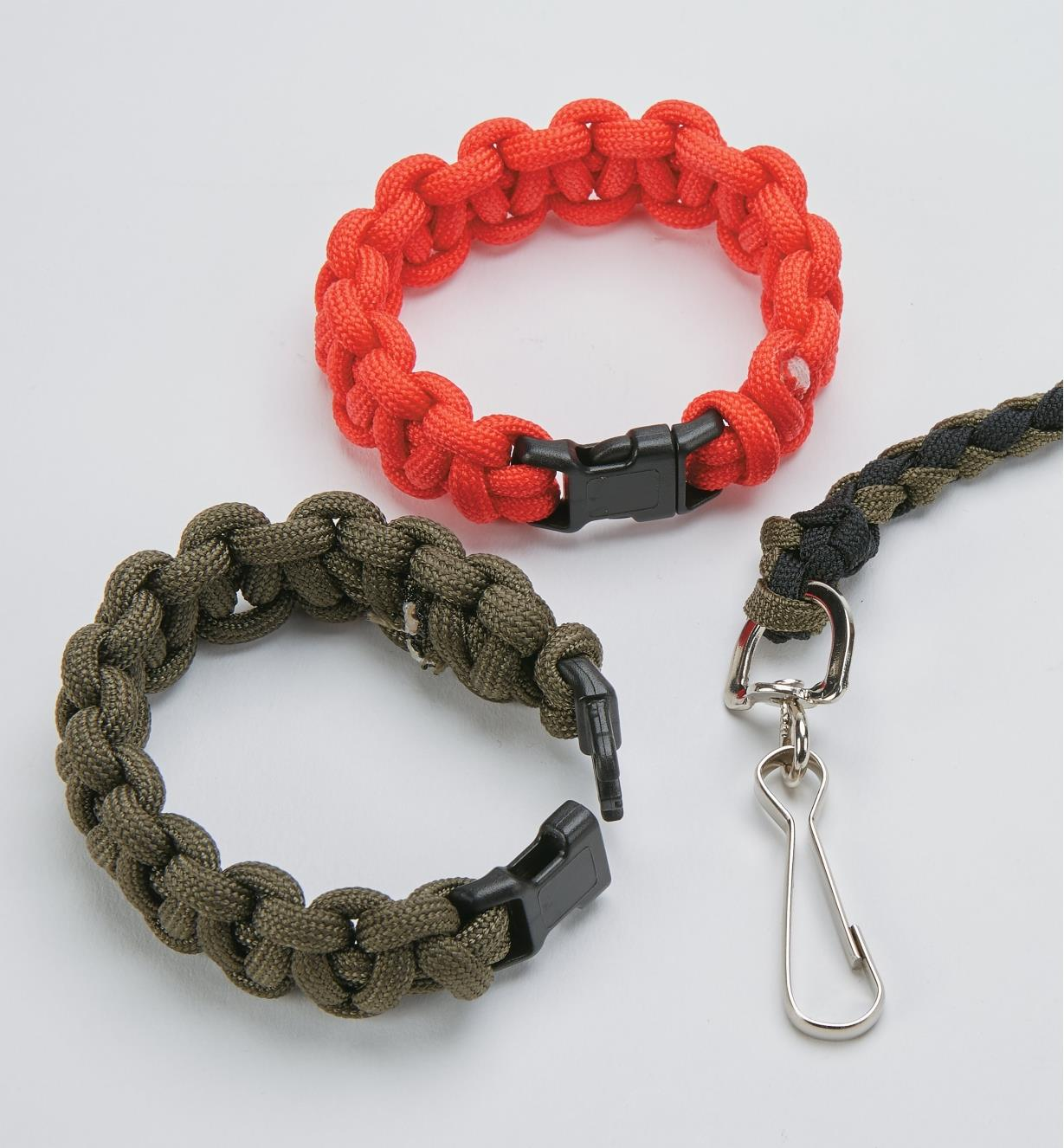 09A0871 - 15-pc. Paracord Findings Assorted Set