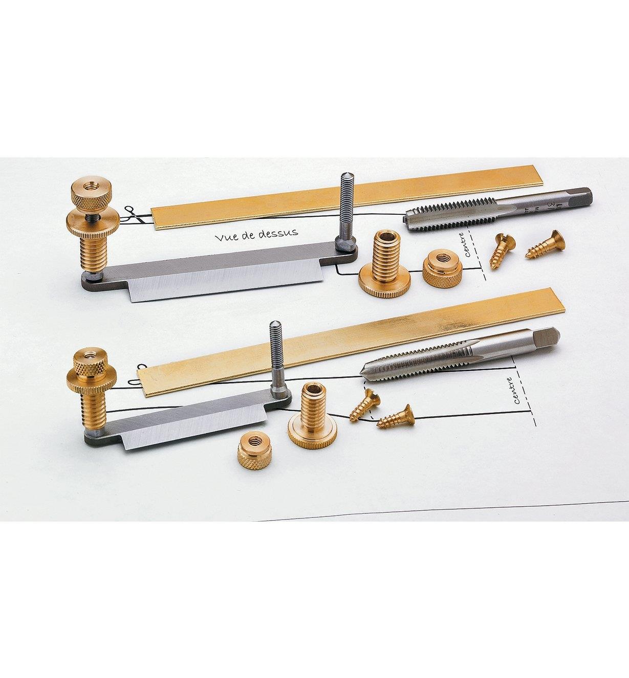 Composants Veritas pour vastringues en bois