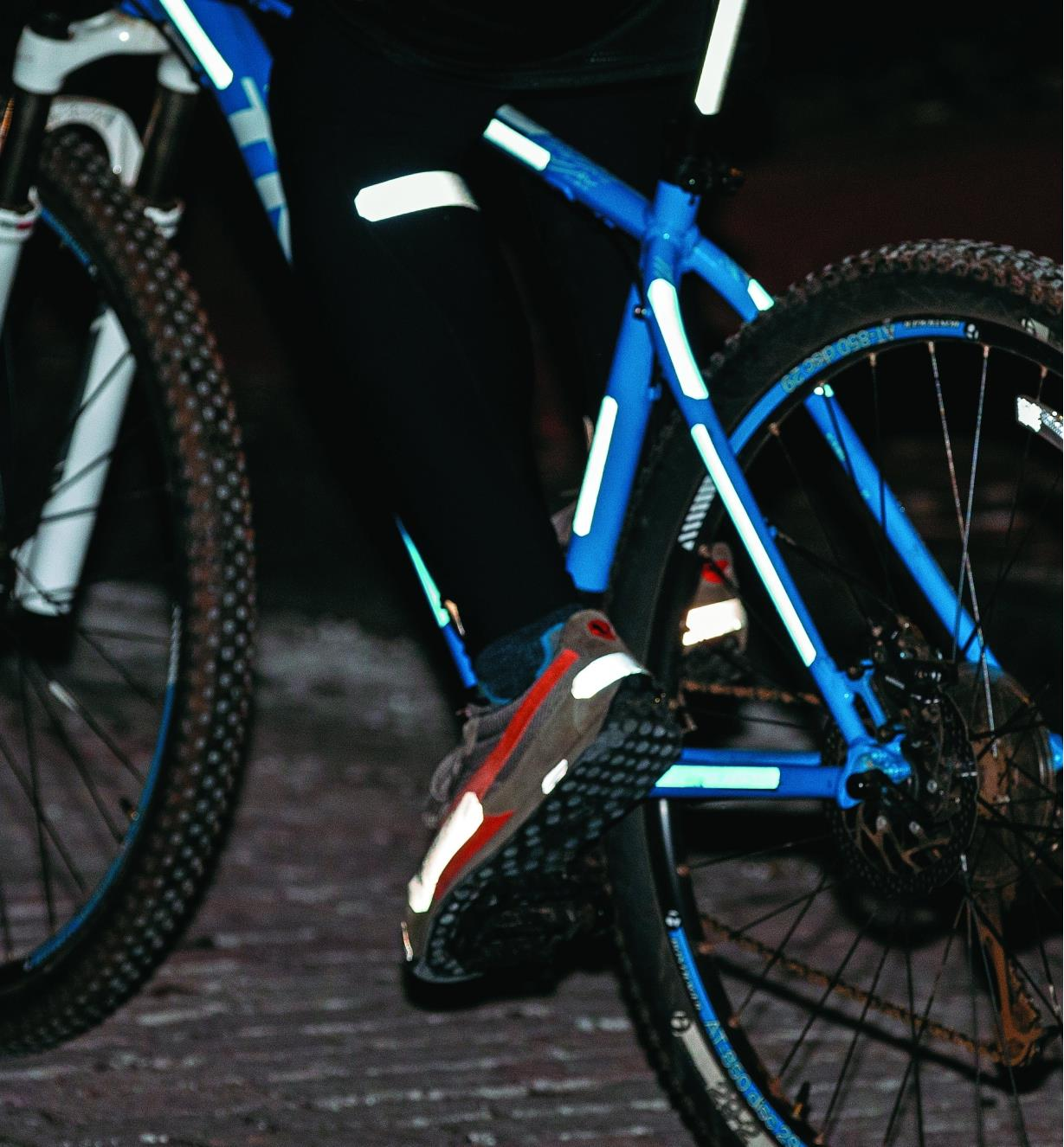 Iron-On & Peel-and-Stick Reflective Strips