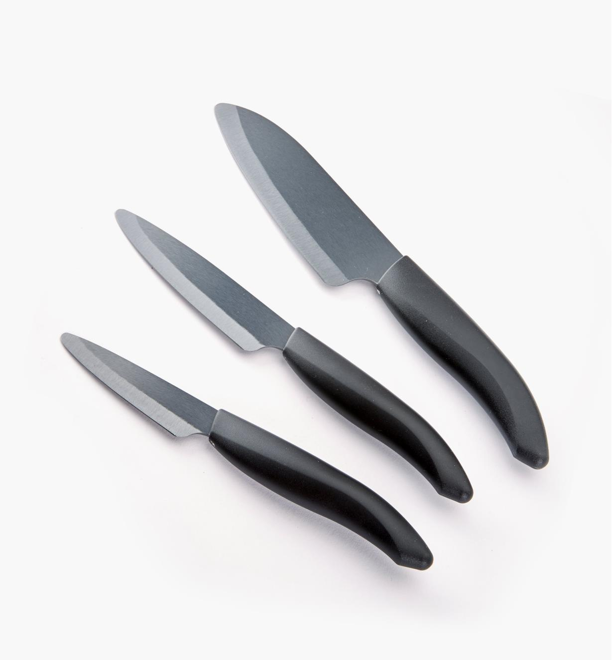 99W5940 - Set of 3 Kyocera Ceramic Knives