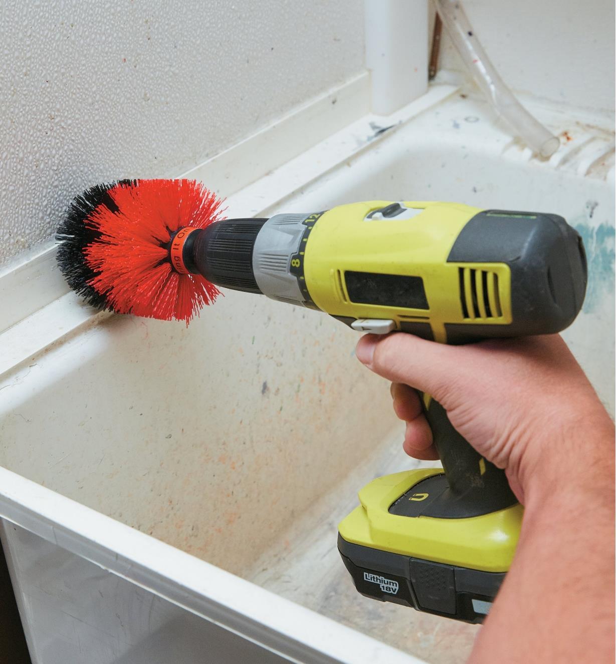 SA151 - Drill Brush, Soft Stiffness