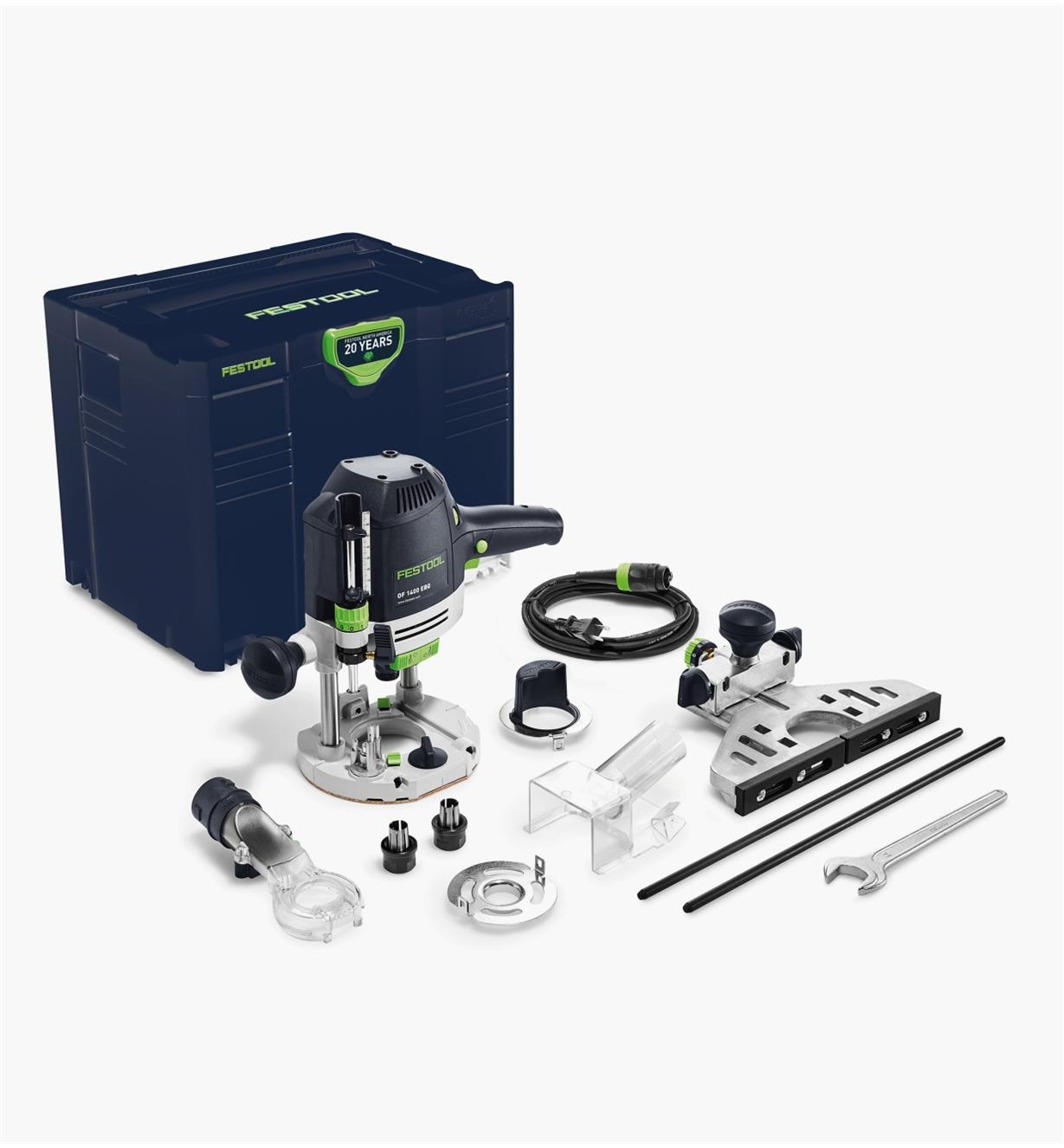 ZT576692 - Festool Emerald Edition OF 1400 EQ Router