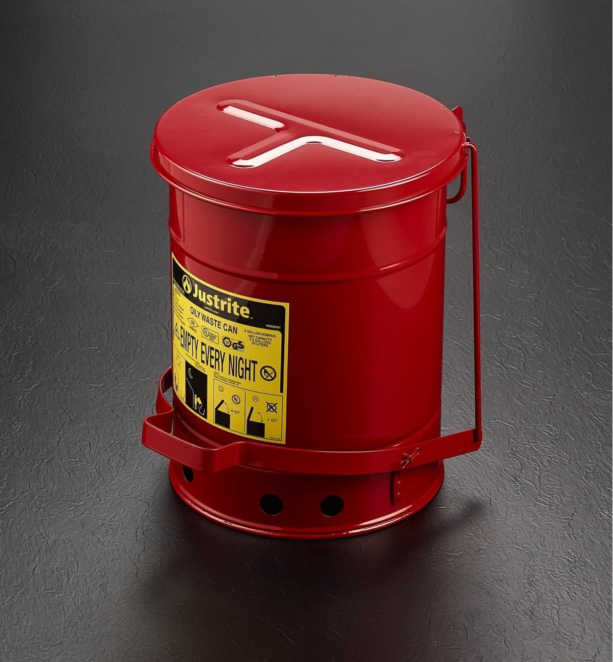 22R7401 - Metal Can for Flammable Waste