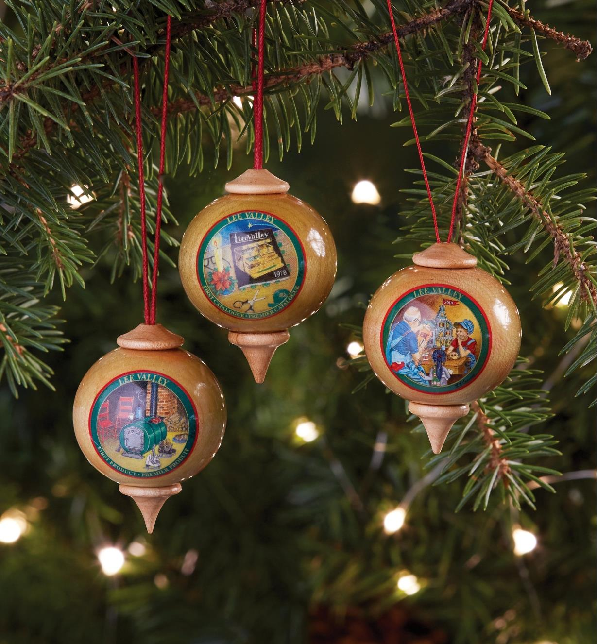 Lee Valley Custom Ornaments
