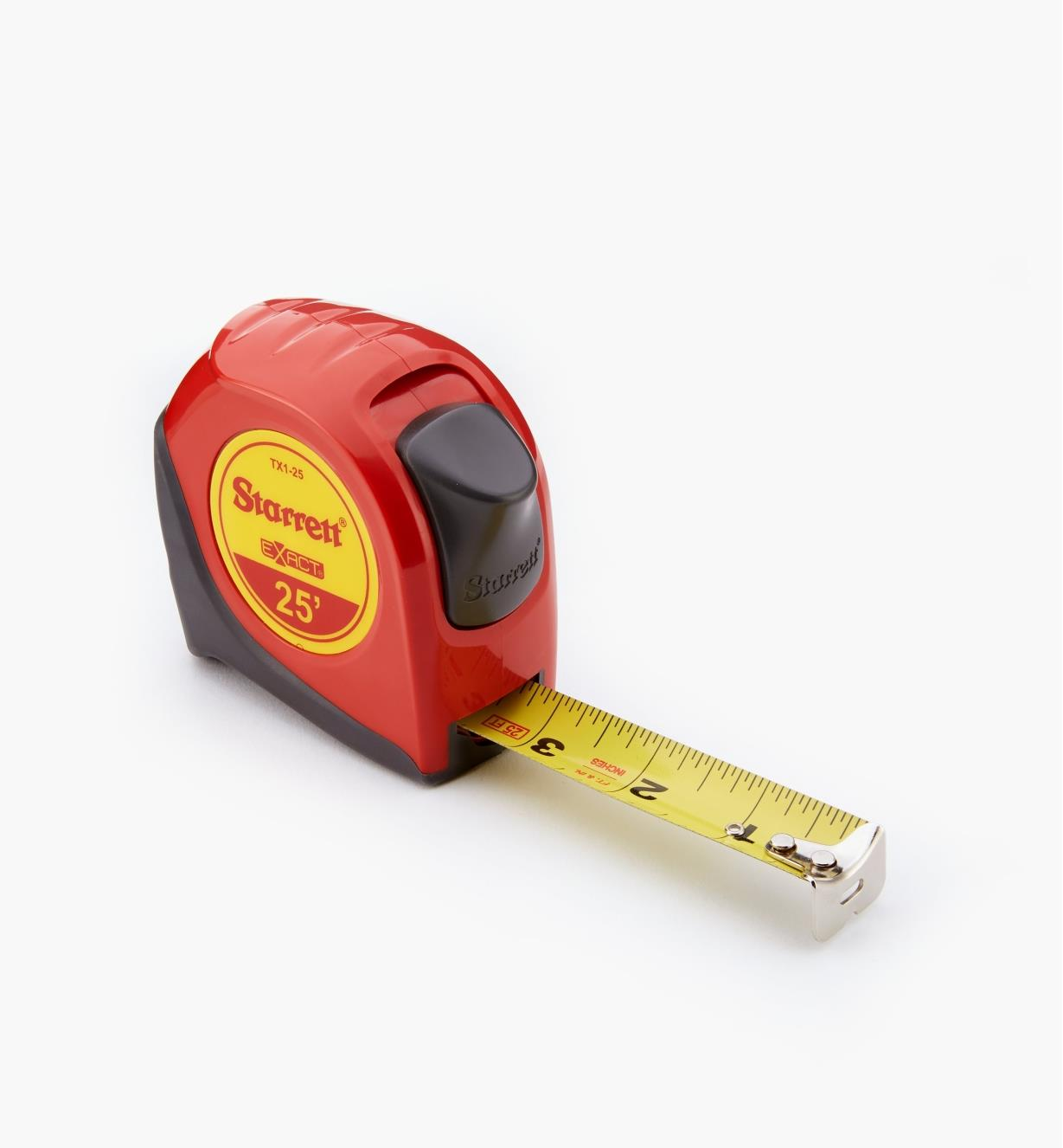 "99W1050 - Starrett Exact 1"" × 25' Tape Measure"