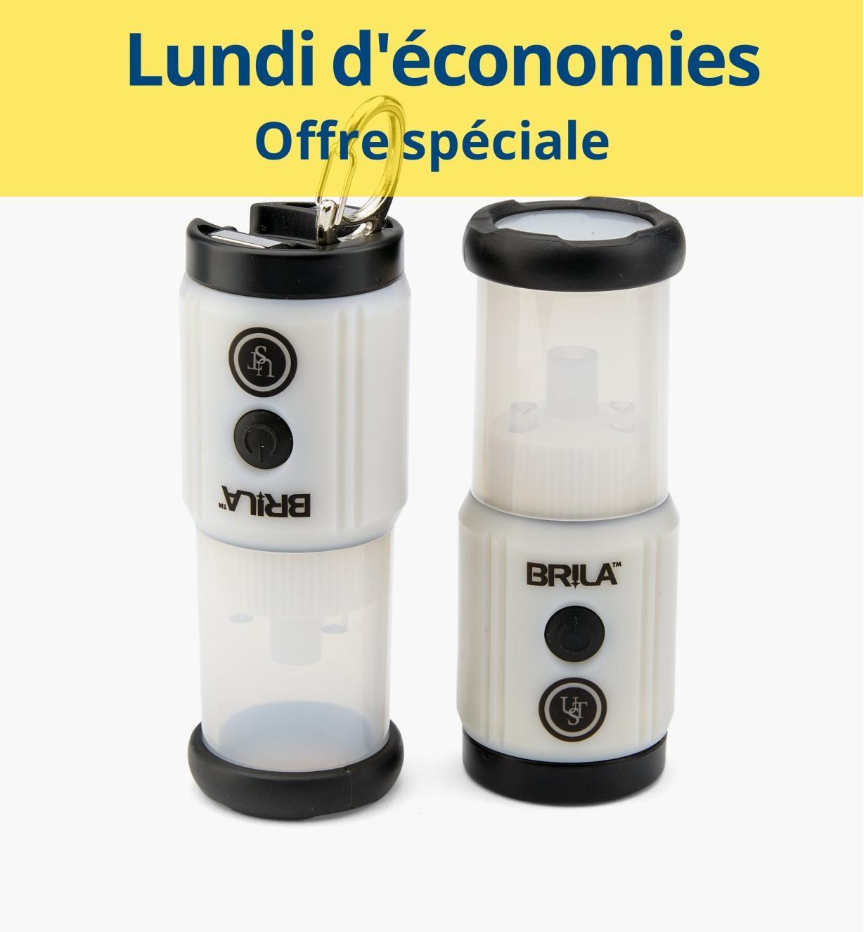 CM1111 - Paire de lanternes miniatures à DEL