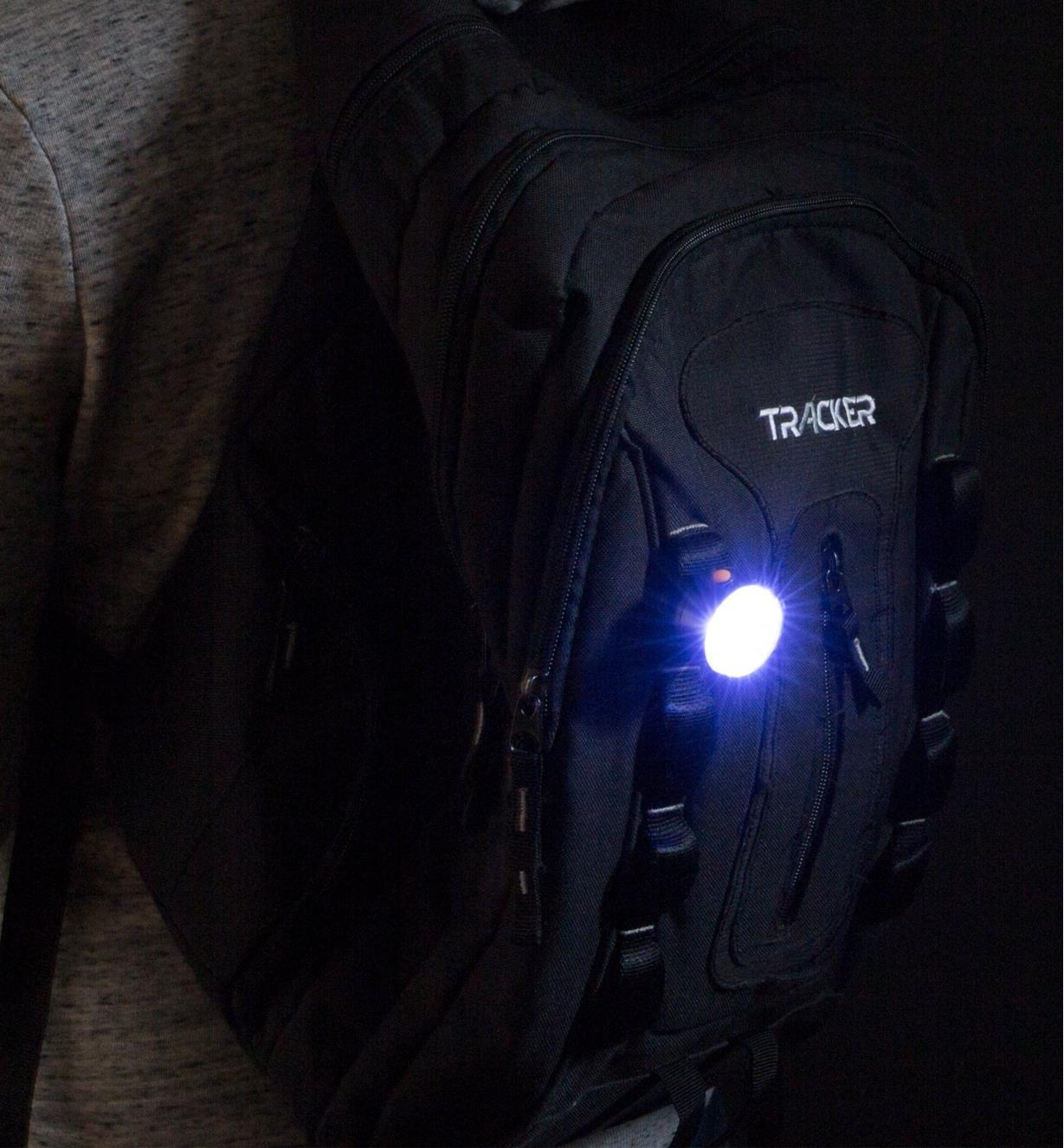 CM1150C - Lampes DEL à pince transparentes, la paire