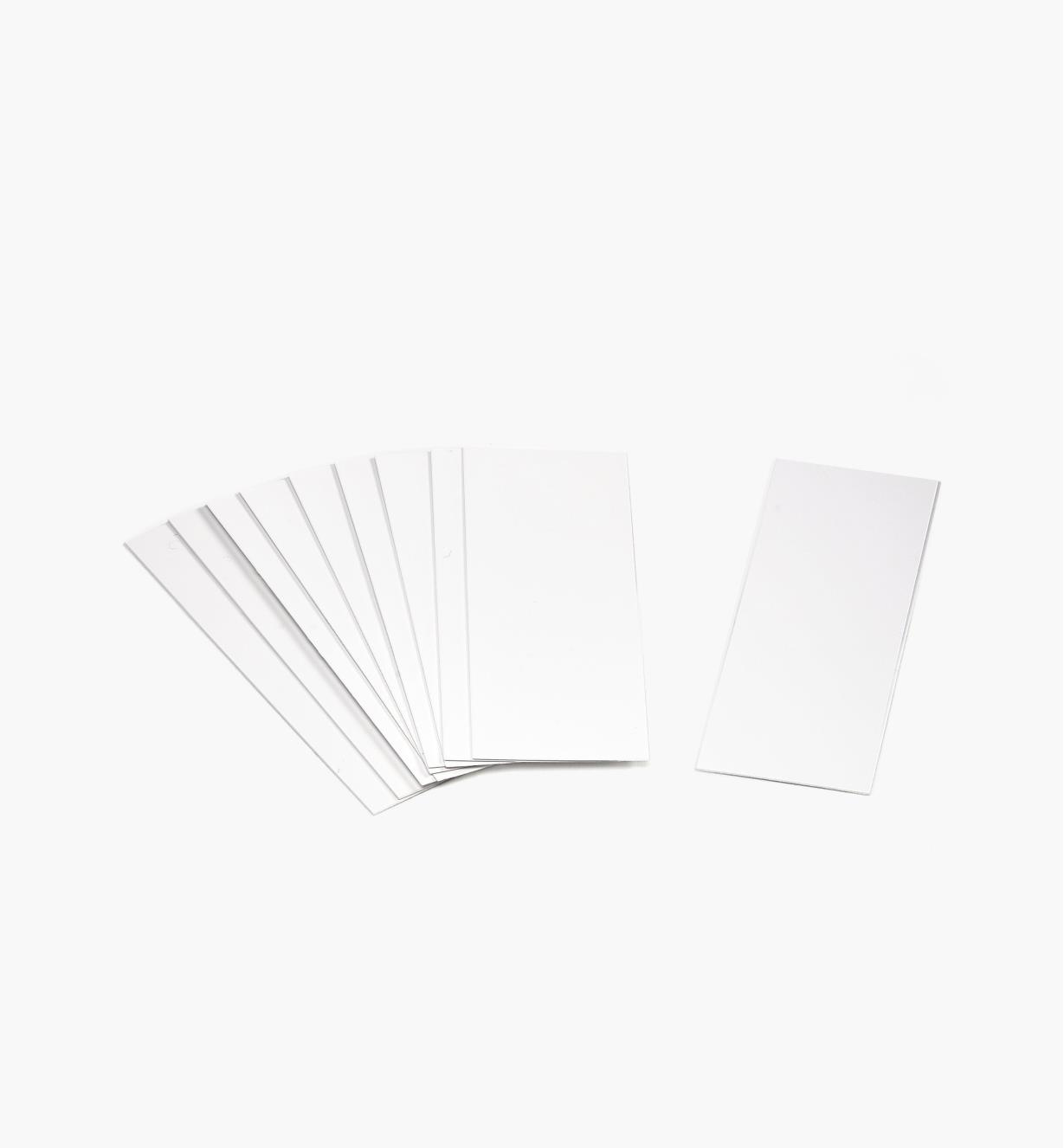 EA609 - Extra Poly Labels, pkg. of 10