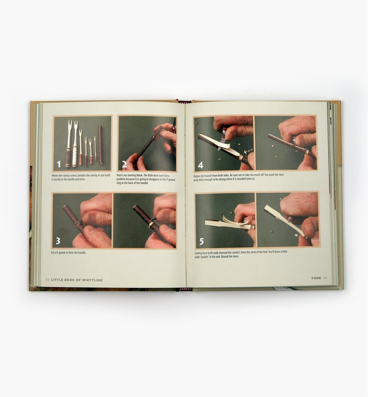 49L5137 - Little Book of Whittling