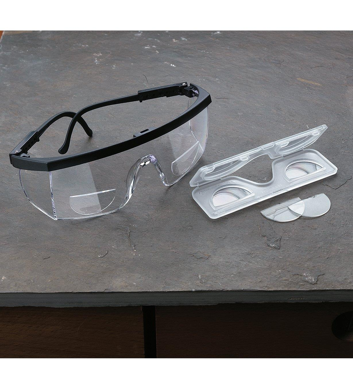 Stick-On Magnifying Lenses