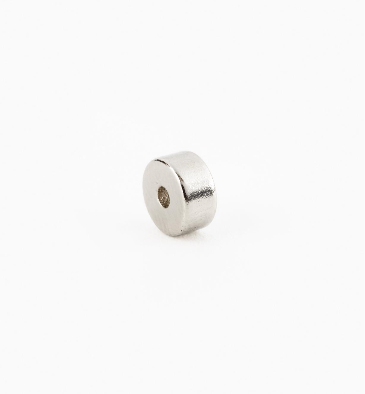 99K3701 - Aimant annulaire, 1/4pox1/8po (1/16po)