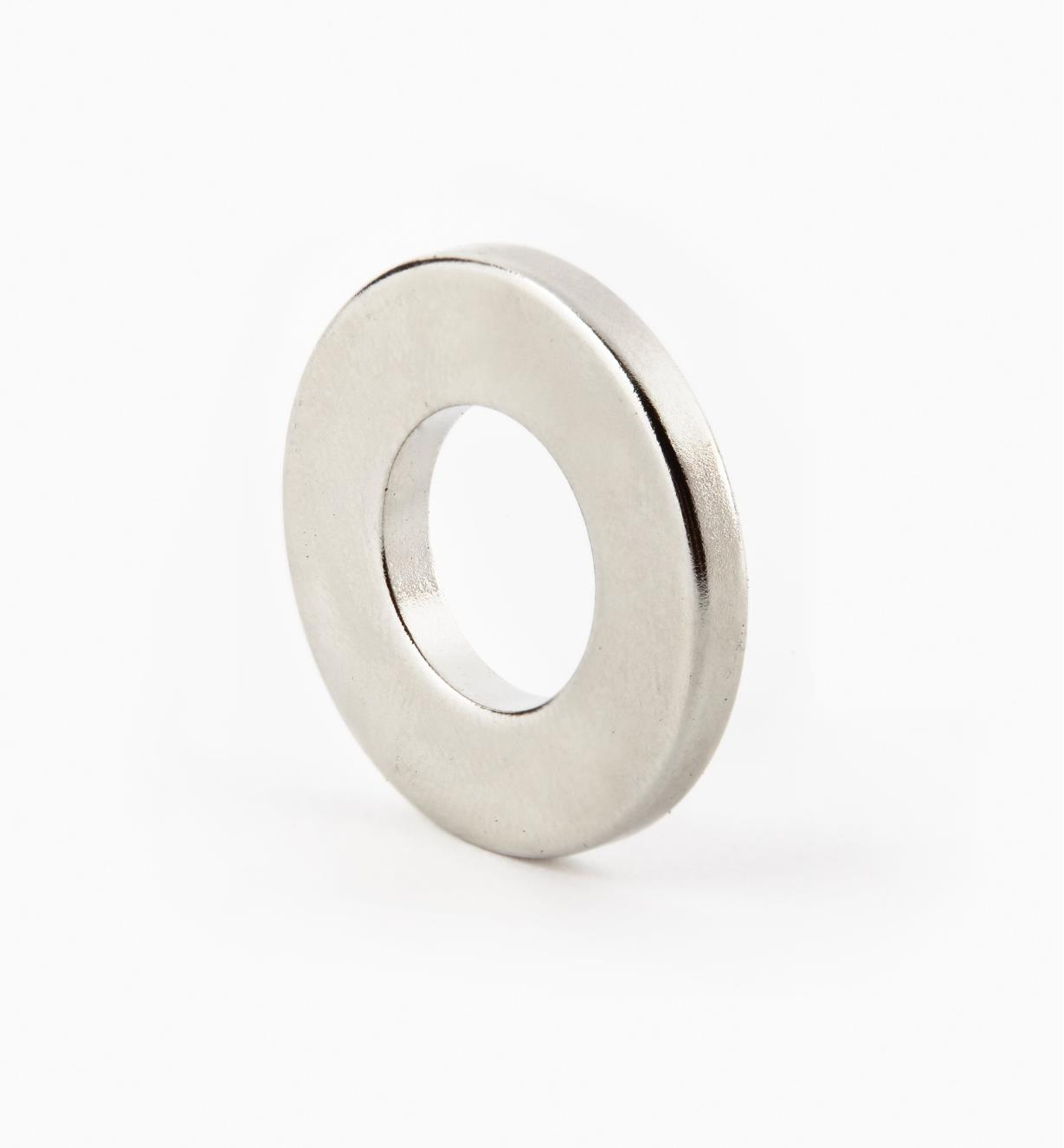 "99K3705 - 1"" x 1/8"" (1/2"") Ring Magnet"