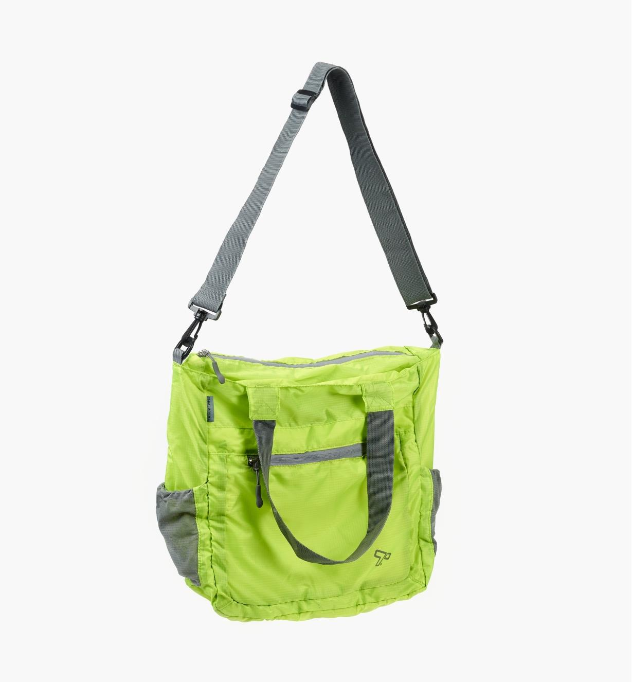 99W7693 - Packable Shoulder Bag, Lime