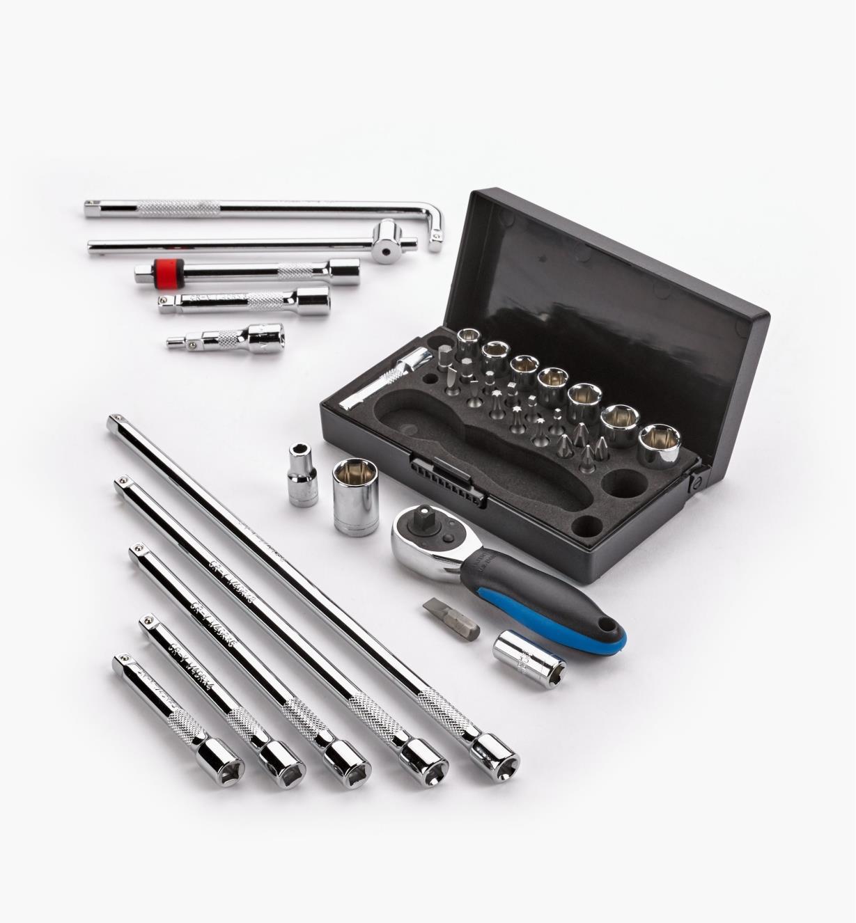99W8015 - Cabinetmaker's 38-pc Set