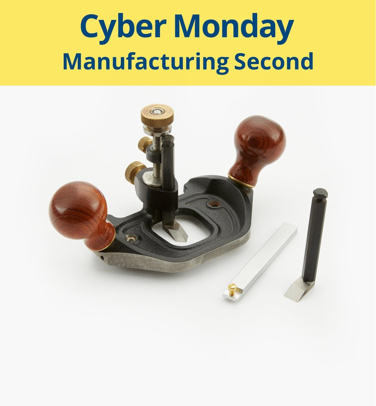 Veritas Router Plane Manufacturing Second Lee Valley Tools
