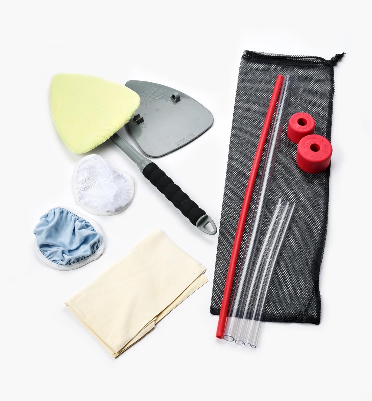 12F0120 - Trio économique pour nettoyage de voiture