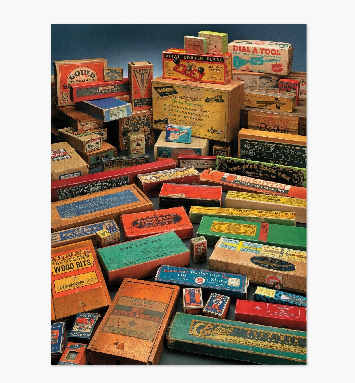 50K1040 - Vintage Tool Boxes Puzzle