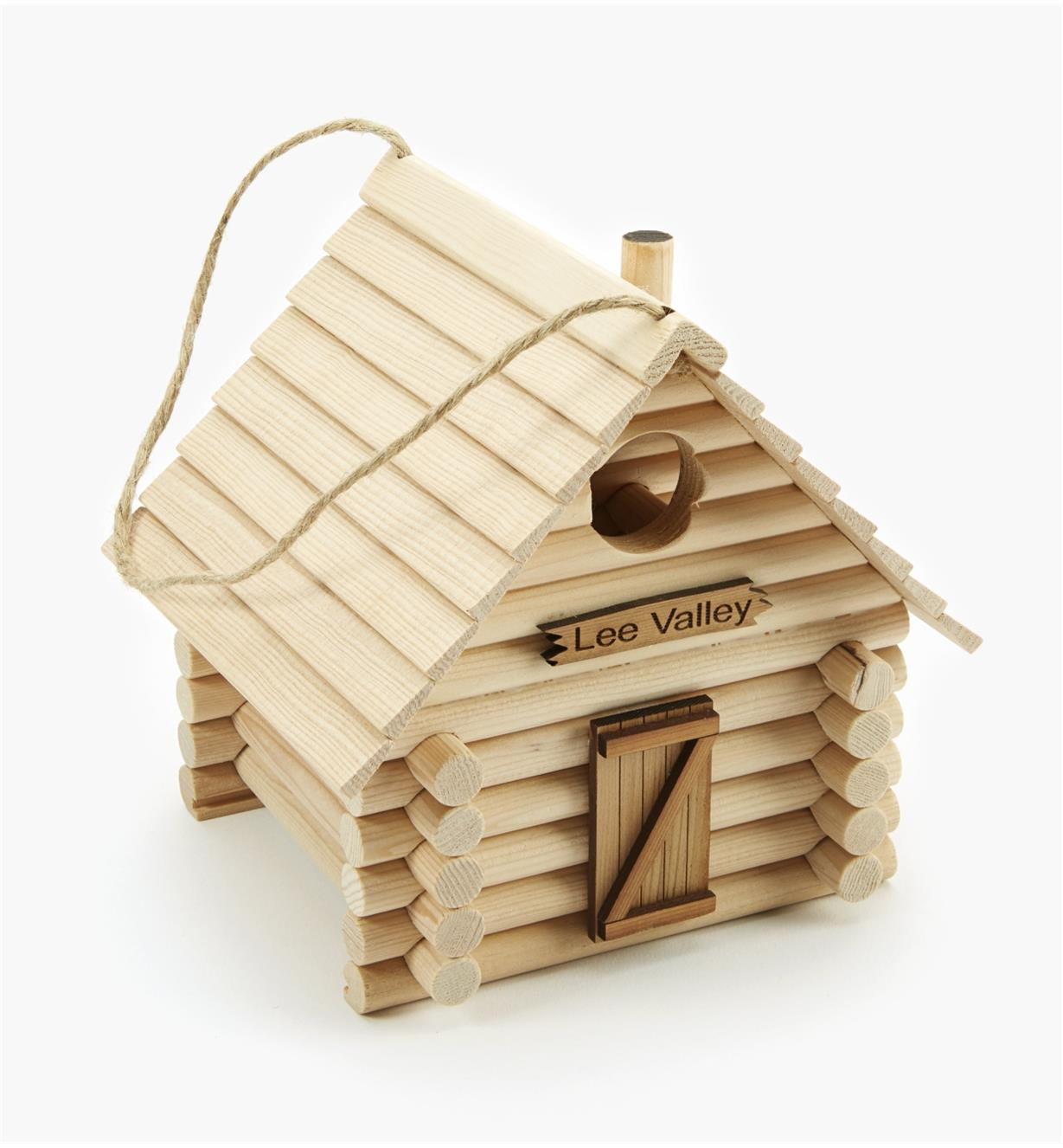 AG119 - Log Cabin Birdhouse Kit