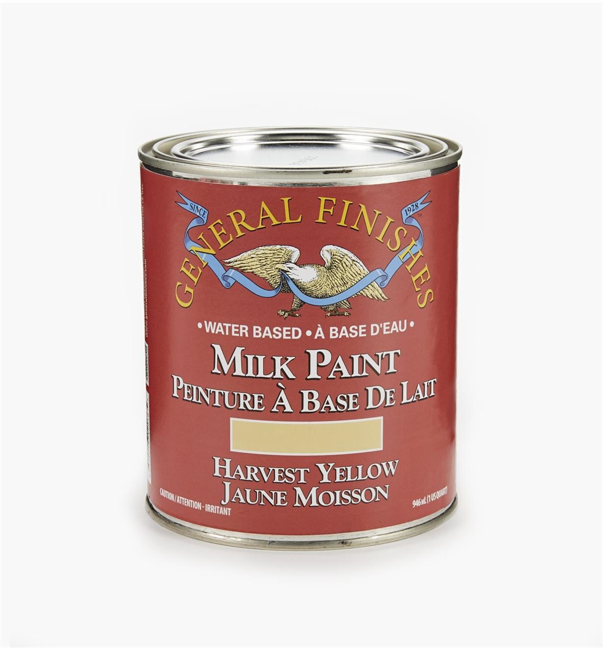 56Z1703 - Harvest Yellow General Milk Paint, 1 qt