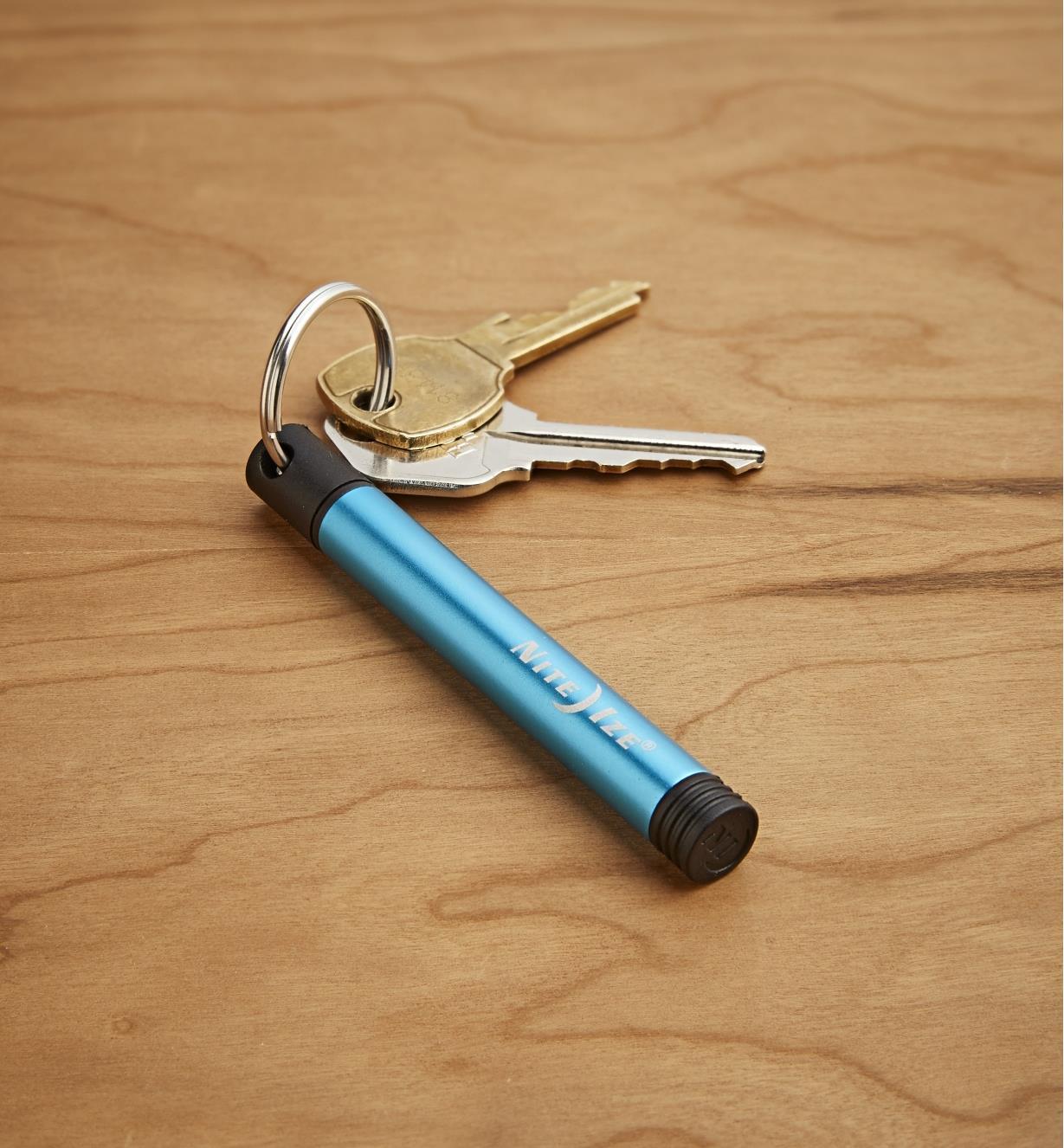 Inka Adventure Pen on a keychain