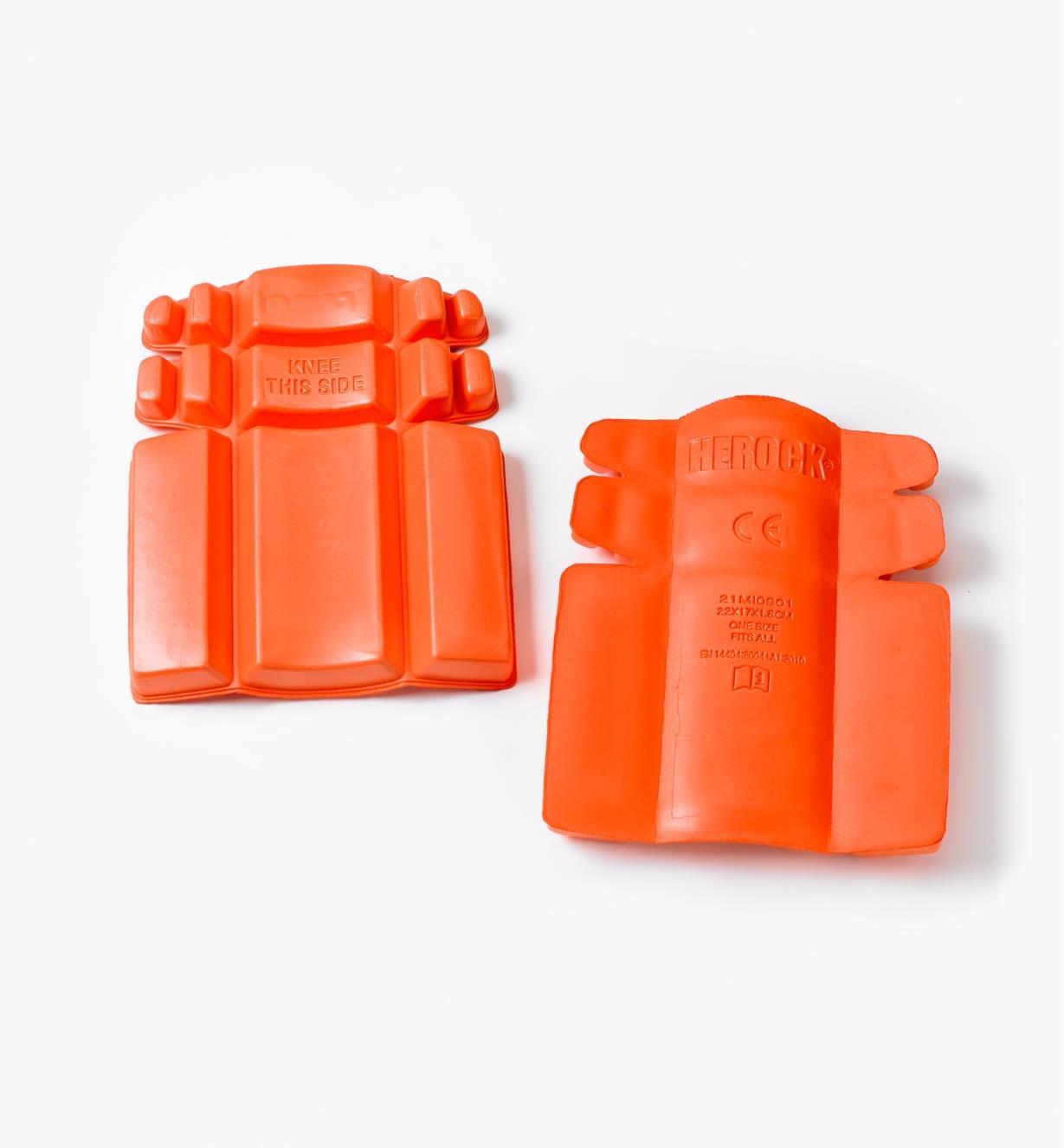 68K4980 - Herock Knee Pad Inserts, pair
