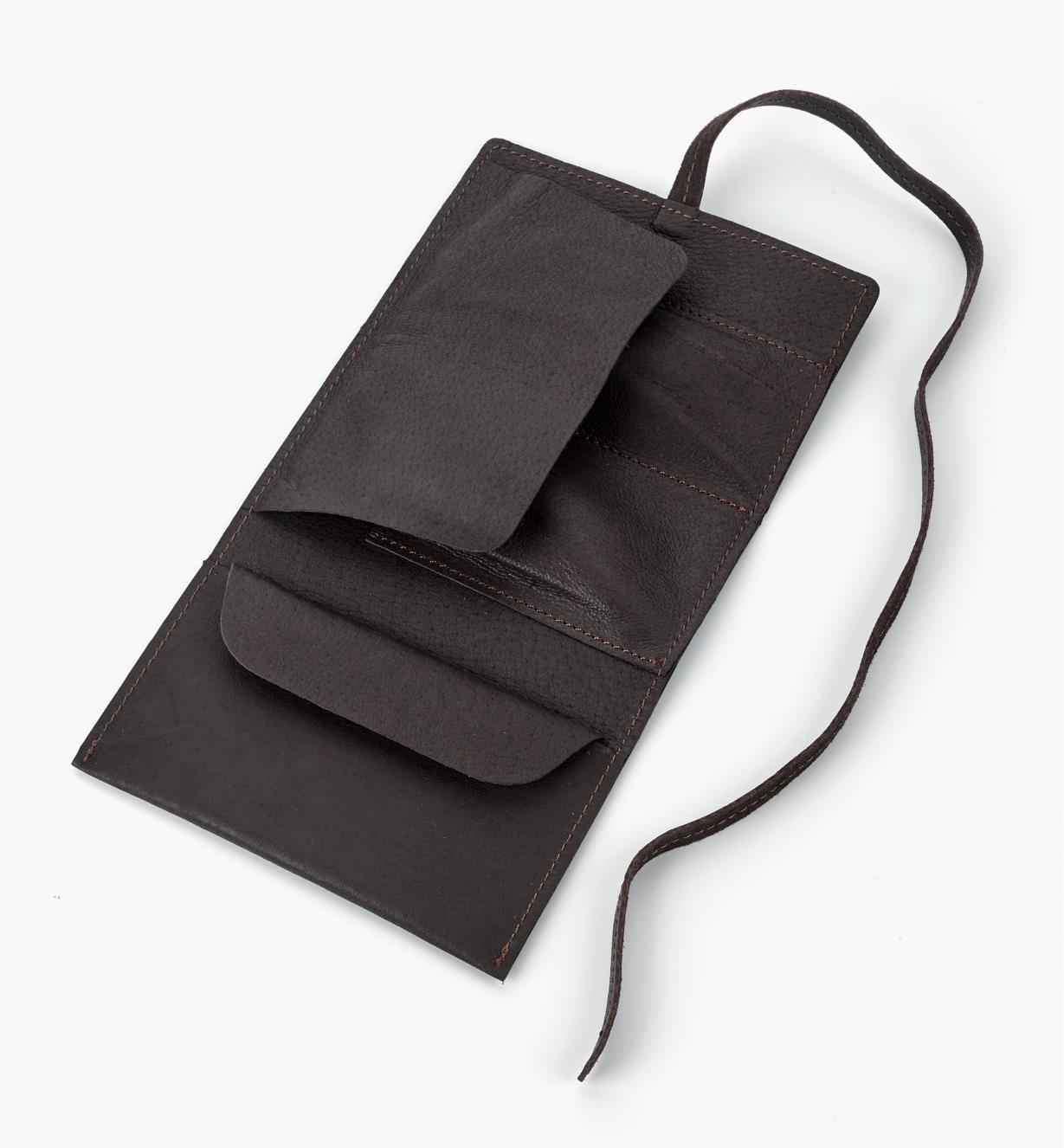 99W0720 - Leather Cord Wallet