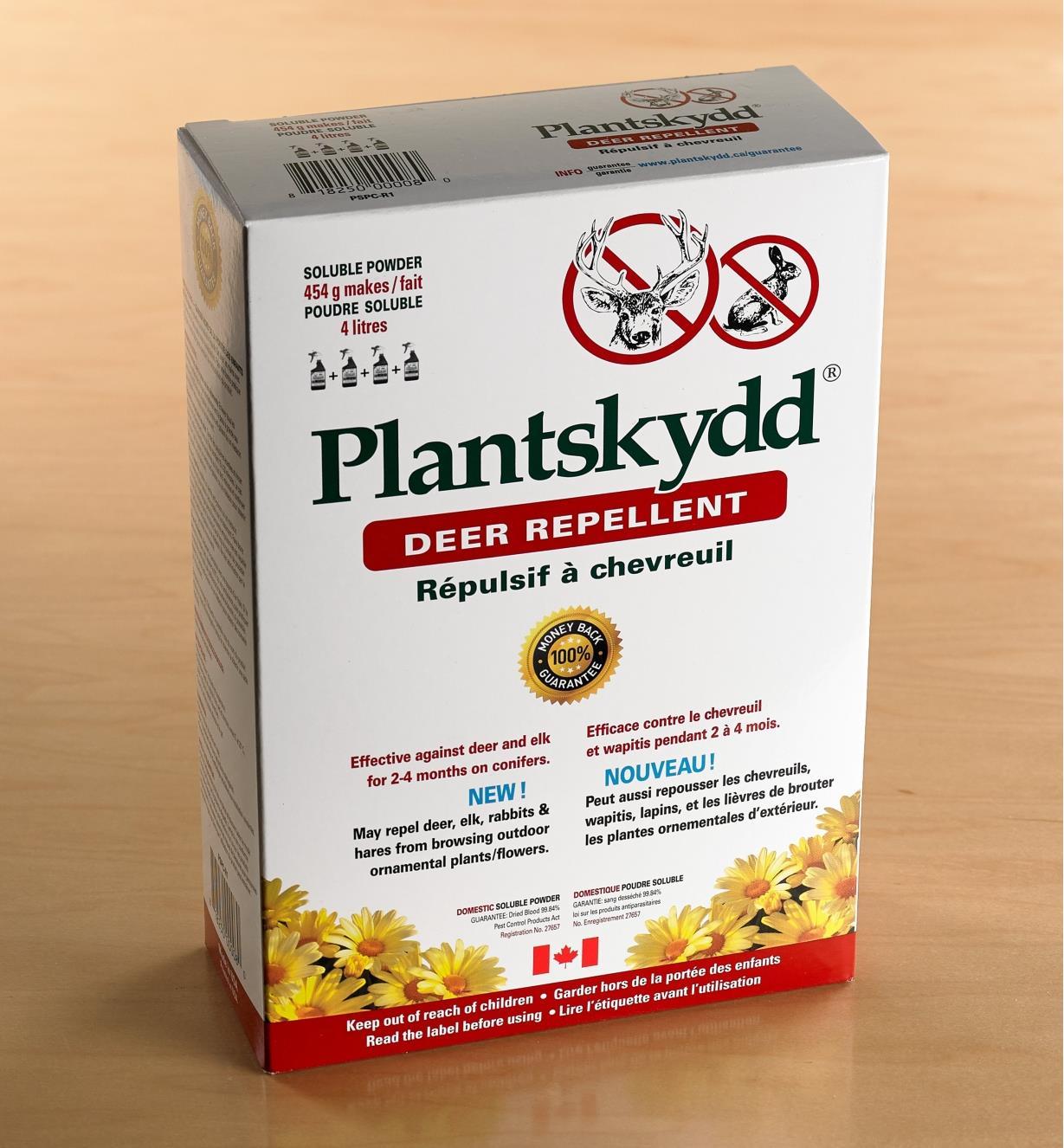 AG146 - Répulsif à herbivores Plantskydd, 1 lb (454 g)