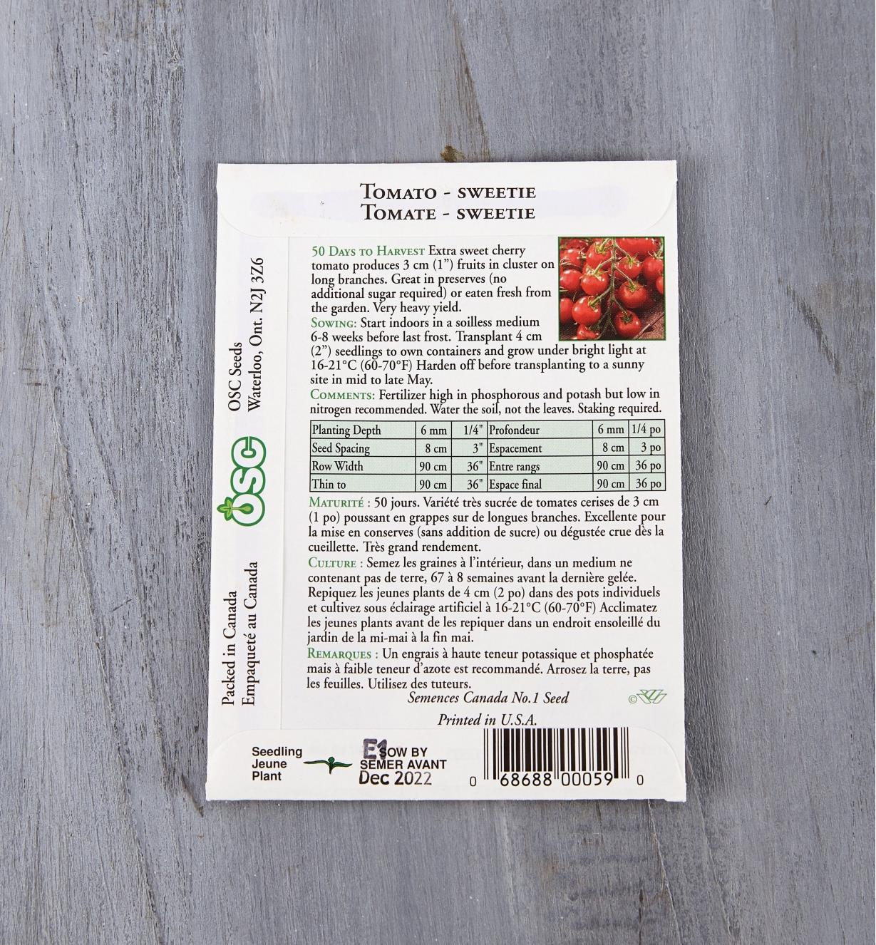 SD121 - Tomato, Sweetie