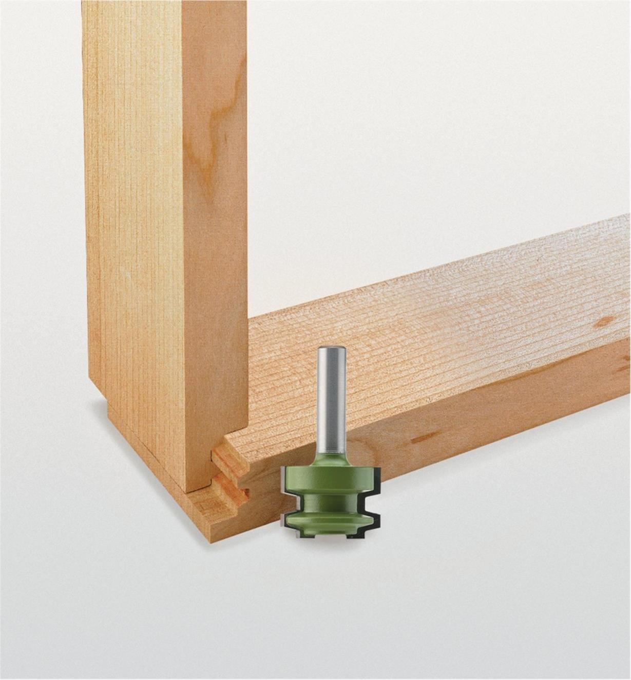 18J7662 - Mèche pour assemblage de tiroir, 11/16po x 3/4po x 8mm