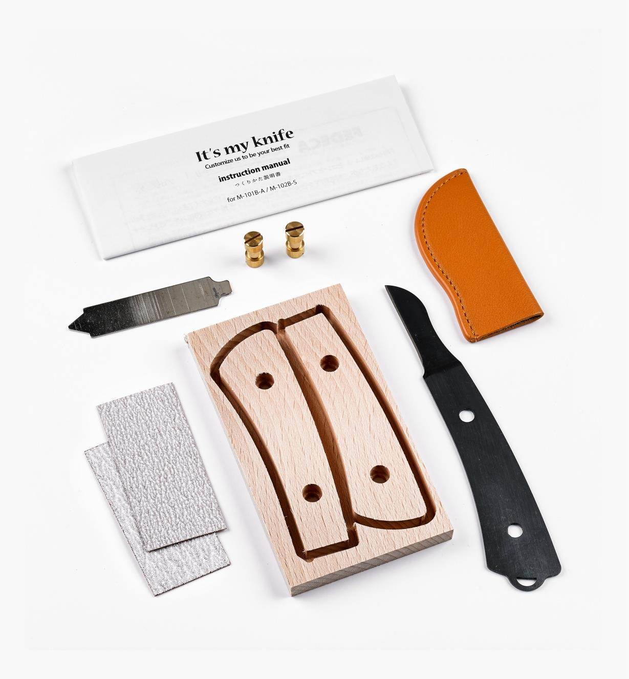 60K1103 - Japanese Carving Knife Kit
