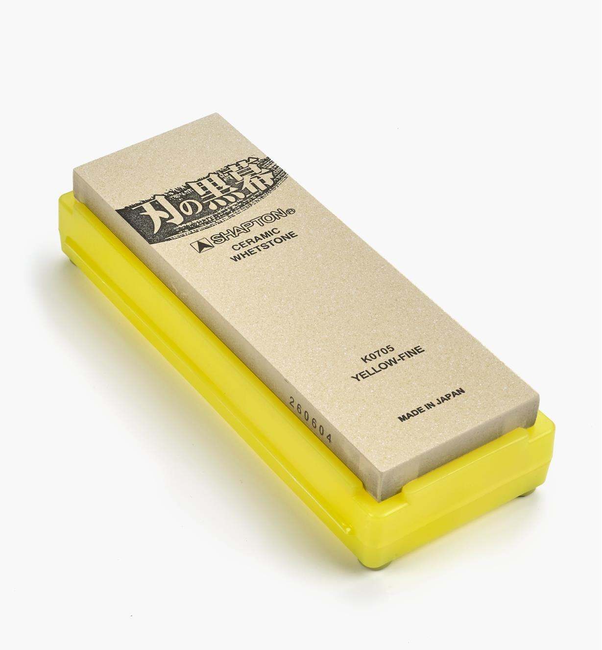 61M0109 - Shapton 12000x Yellow Ha-No-Kuromaku Ceramic Stone