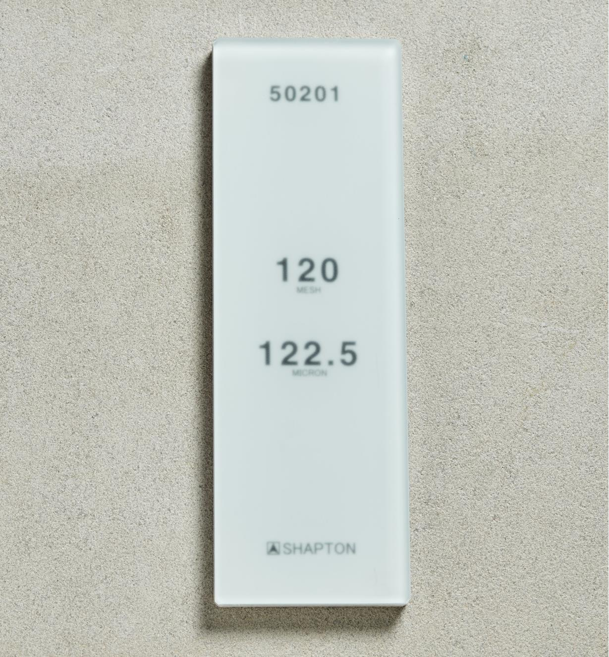61M0301 - Shapton GlassStone HR Stone 122.50µ 120x