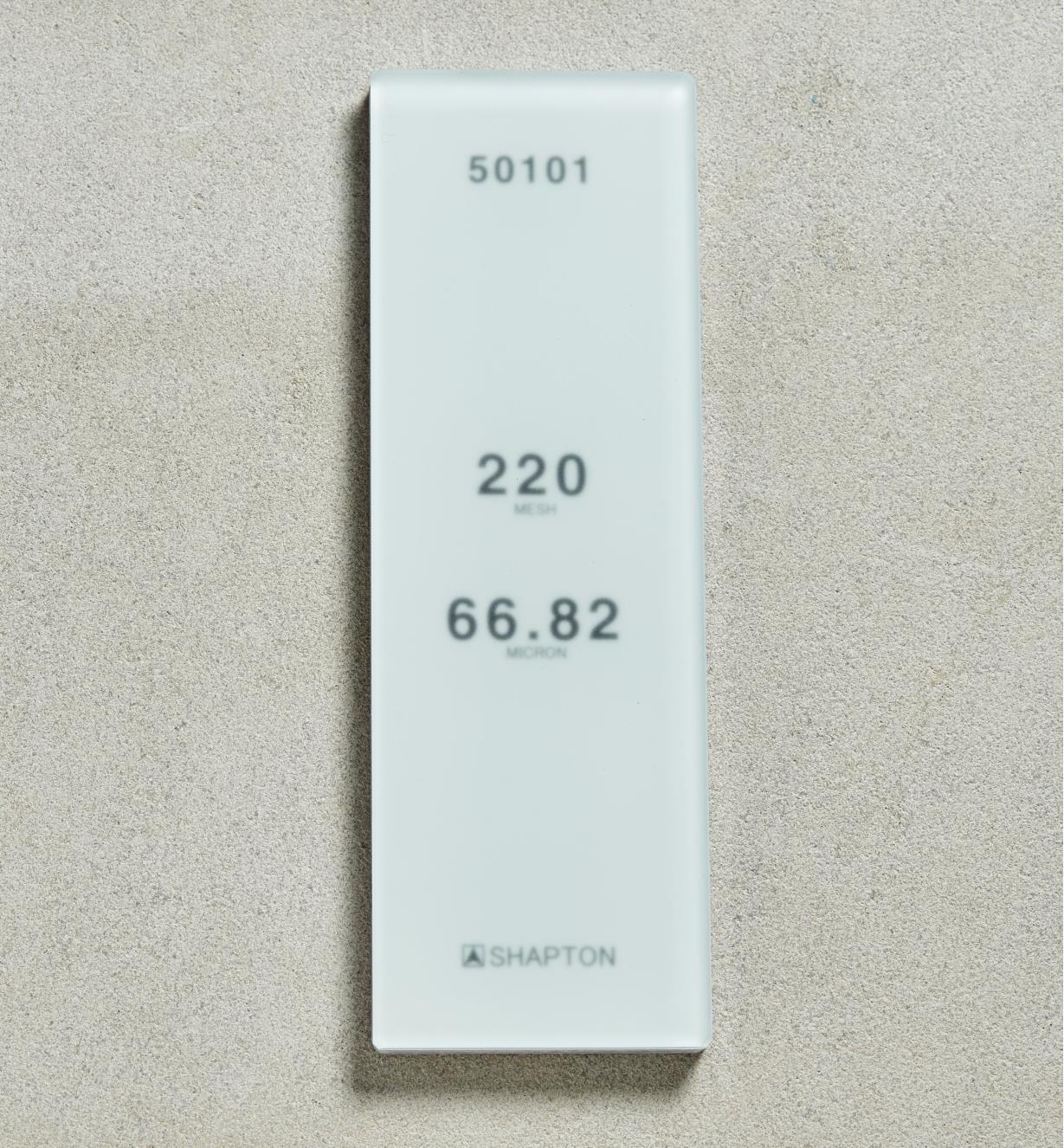 61M0302 - Shapton GlassStone HR Stone 6682µ 220x