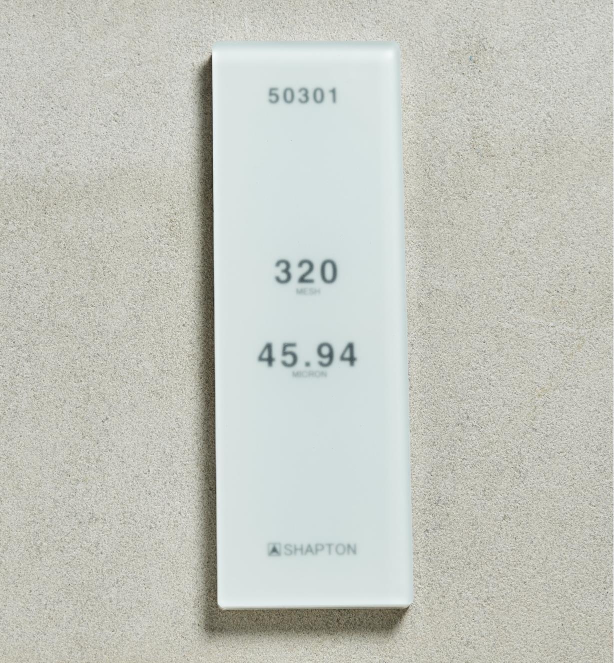 61M0303 - Shapton GlassStone HR Stone 4594µ 320x