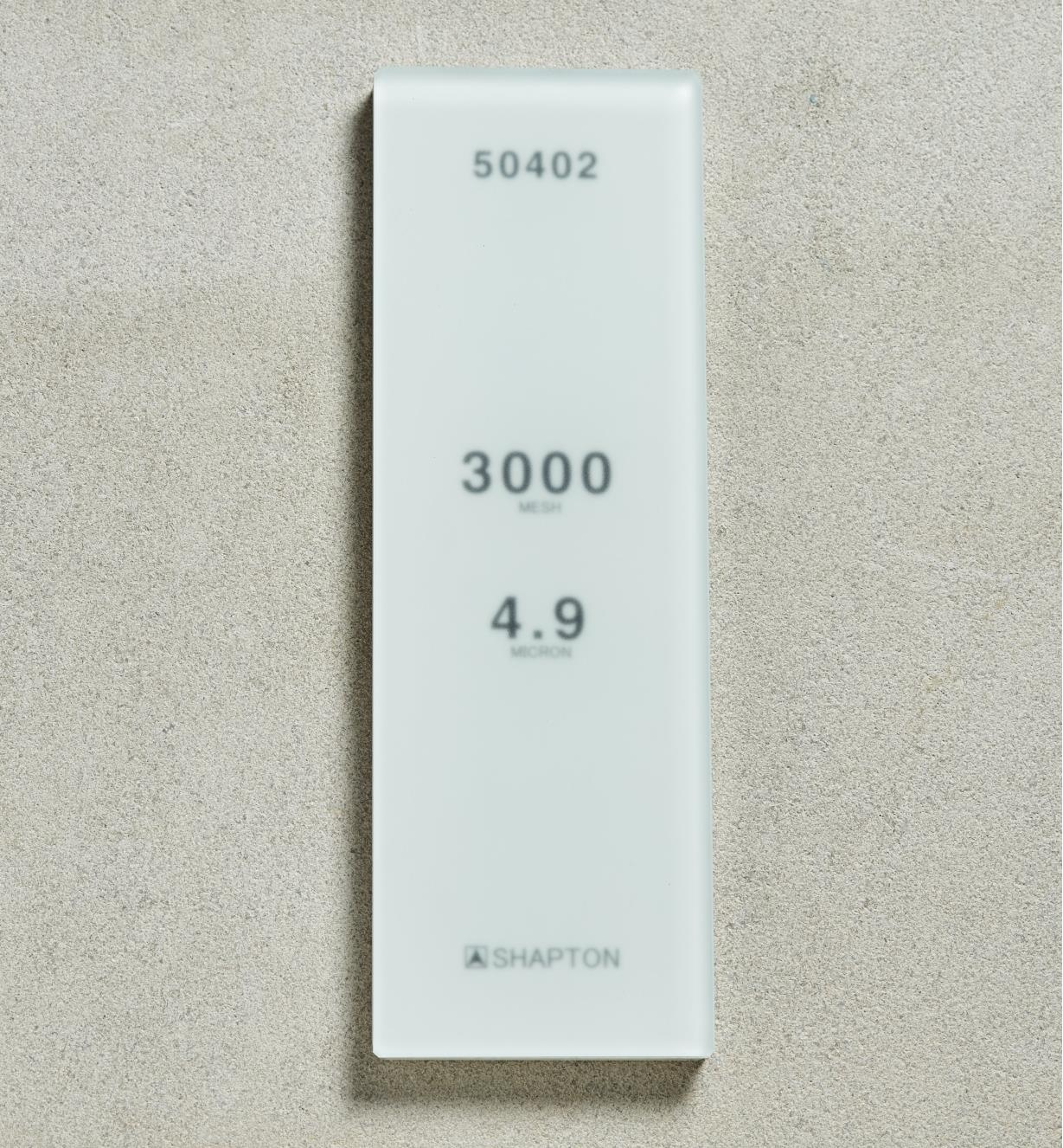 61M0307 - Shapton GlassStone HR Stone 490µ 3000x