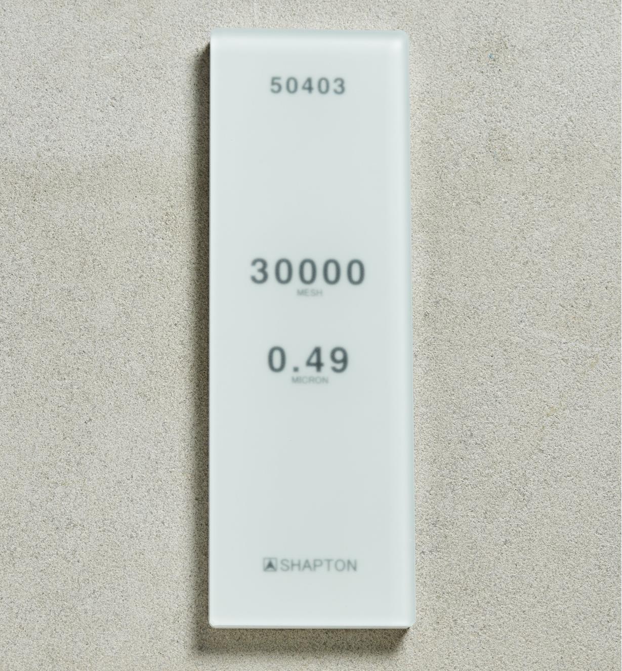 61M0313 - Shapton GlassStone HR Stone 0.49µ 30,000x