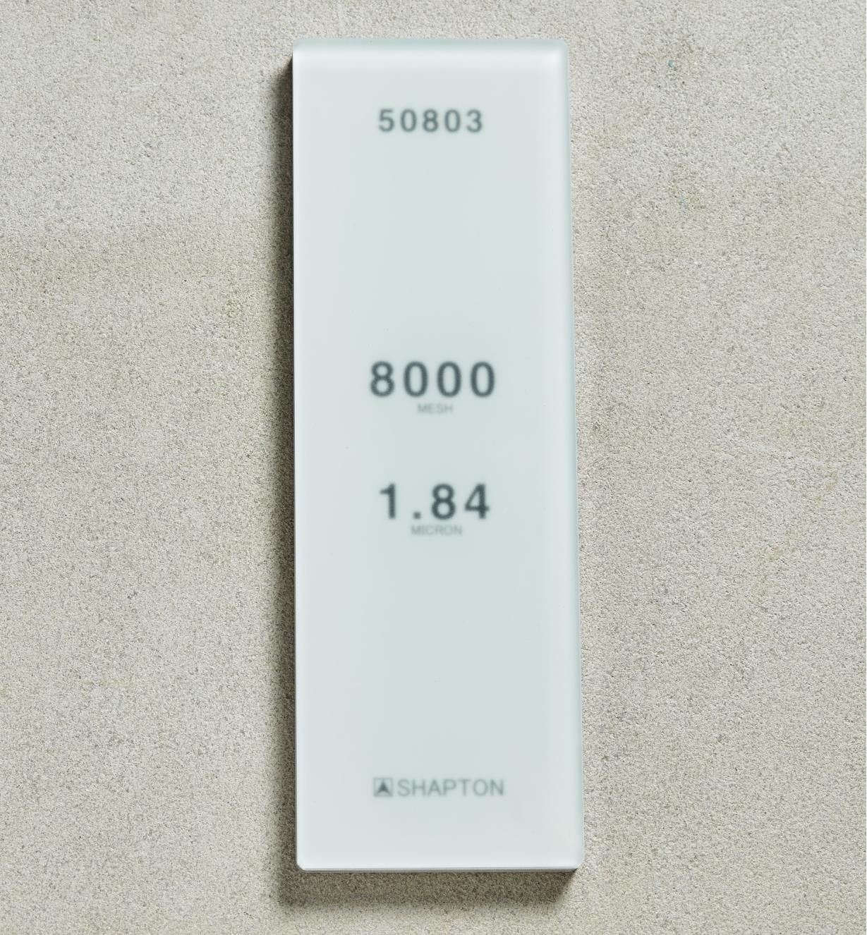 61M0330 - Shapton GlassStone HC Stone 1.84µ 8000x