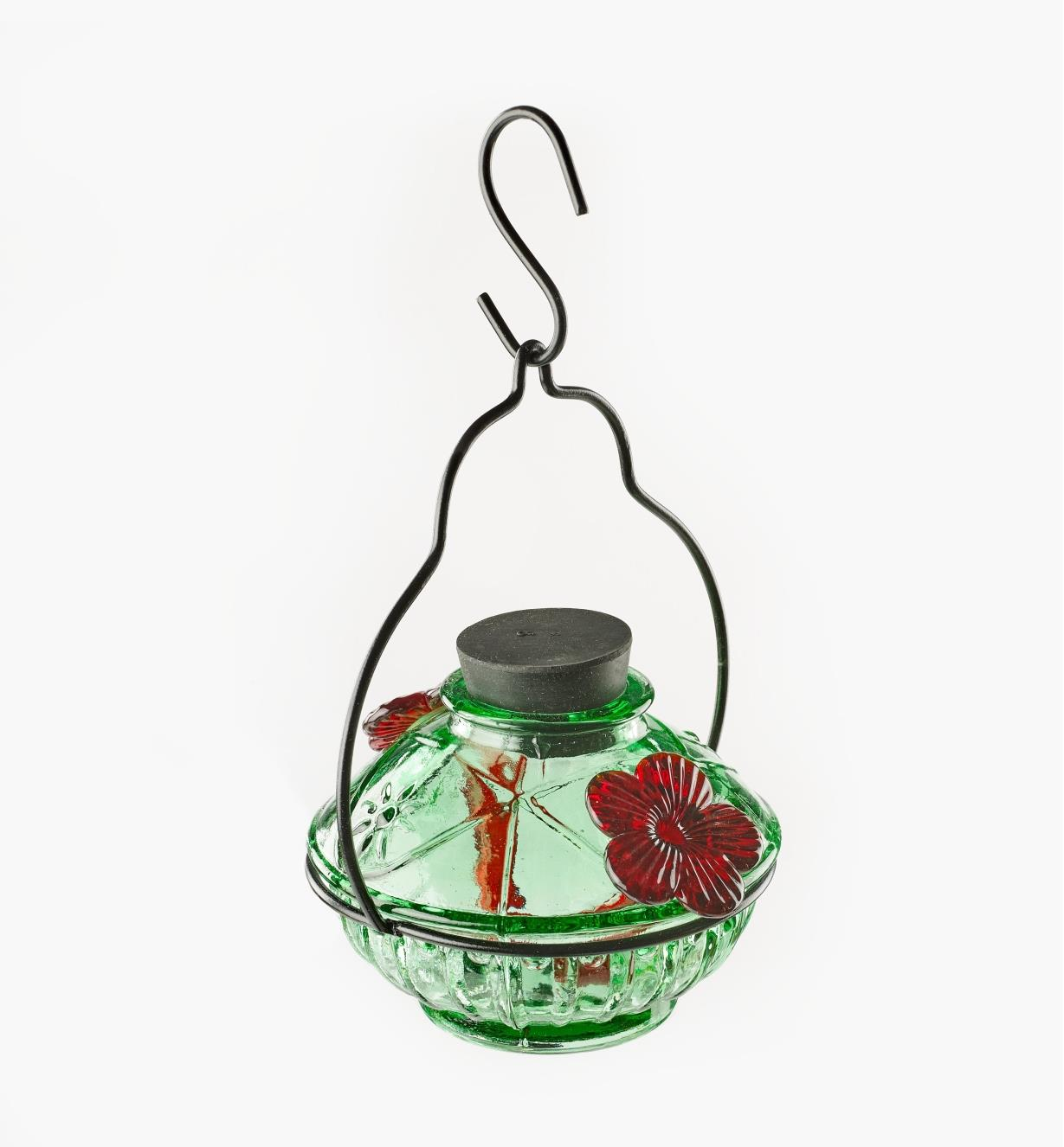 AG192 - Glass Hummingbird Feeder