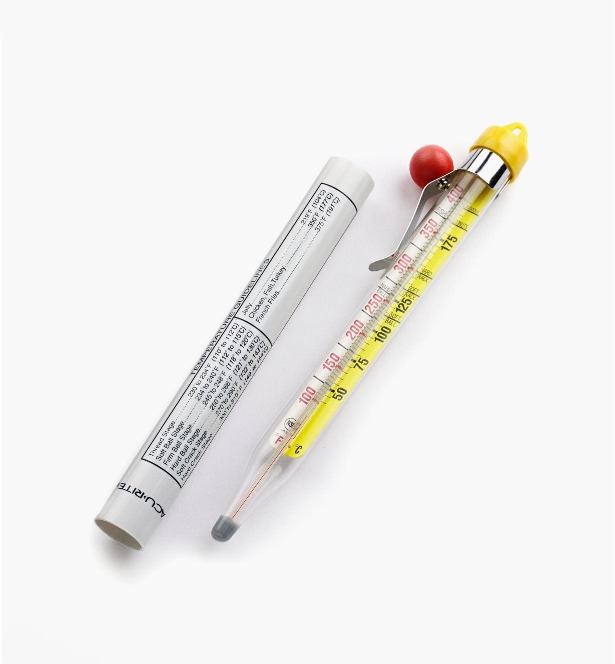 FT104 - Thermomètre pour friture et confiserie
