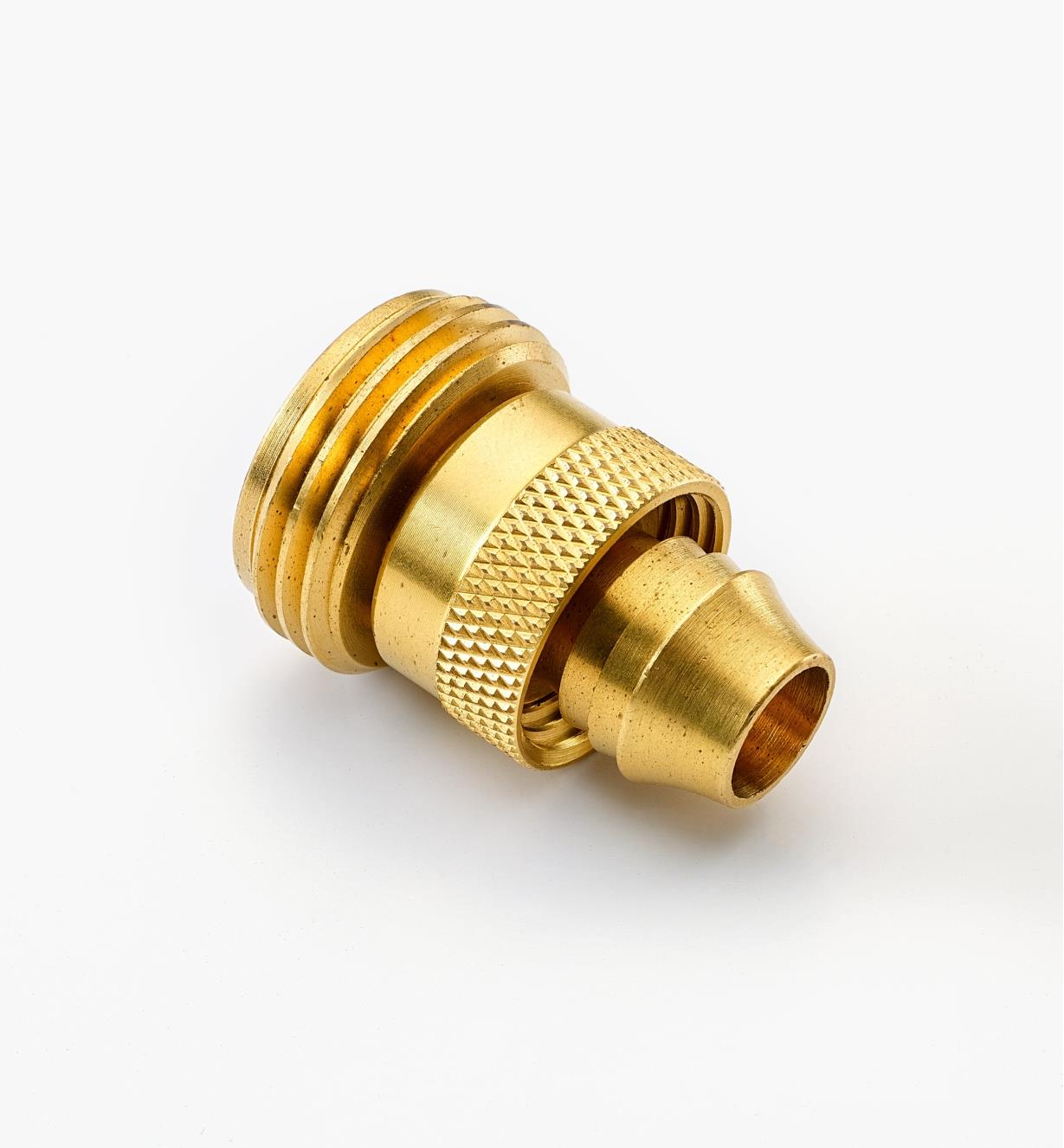 XB423 - Male Brass Hose Coupler, 1/2""