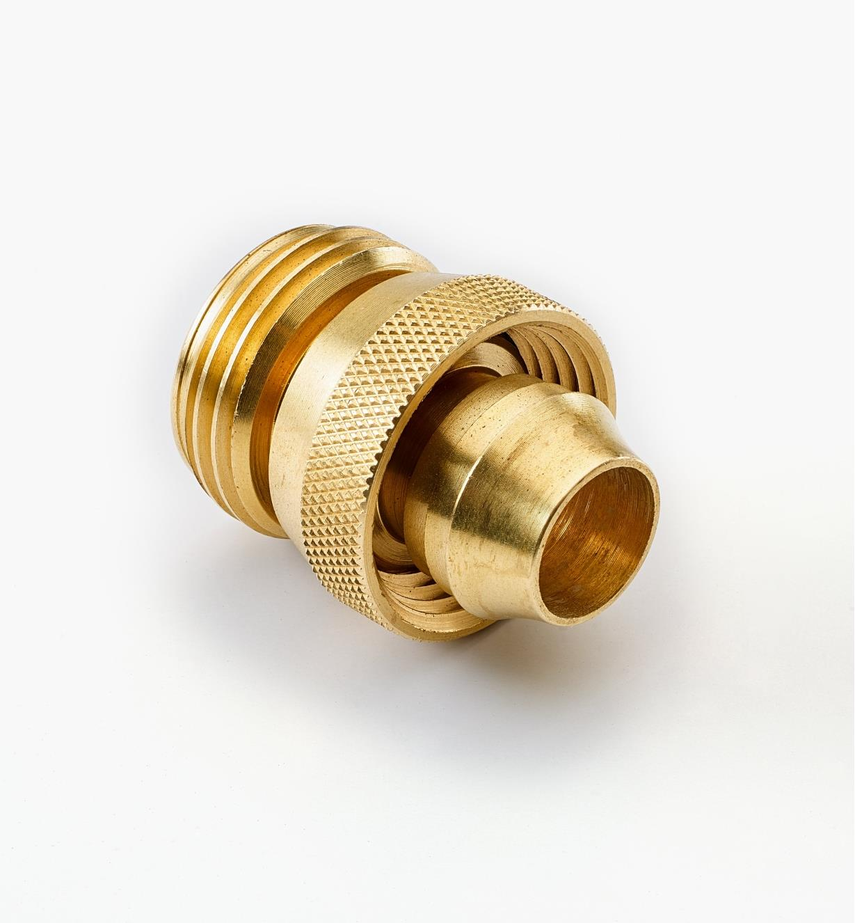 XB425 - Male Brass Hose Coupler, 5/8""