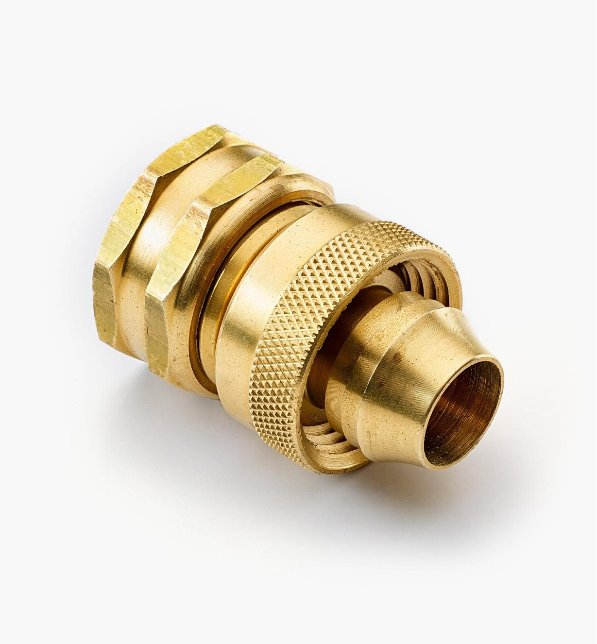XB426 - Female Brass Hose Coupler, 5/8""